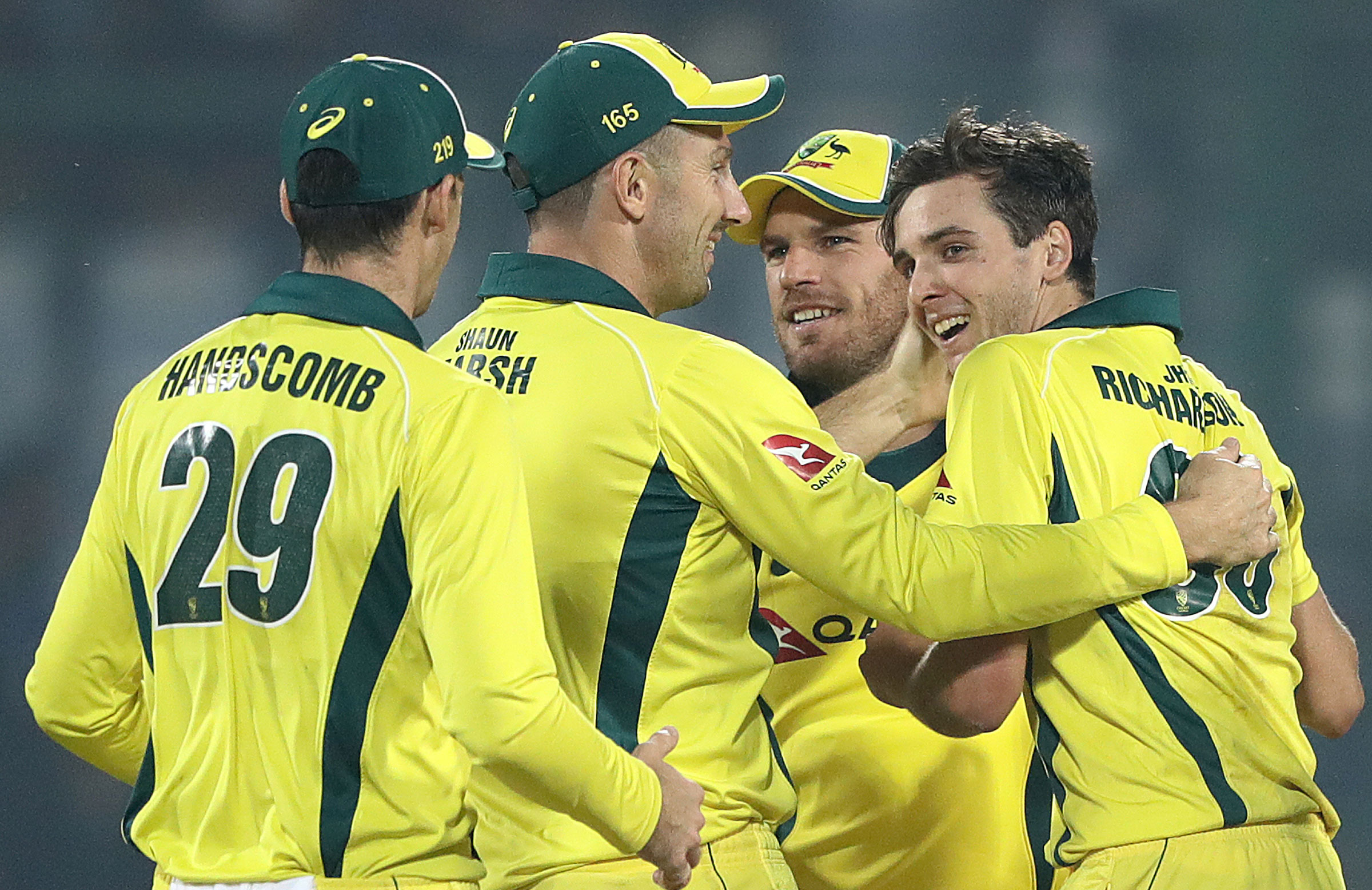 Australia were a well-drilled unit with the ball // Getty