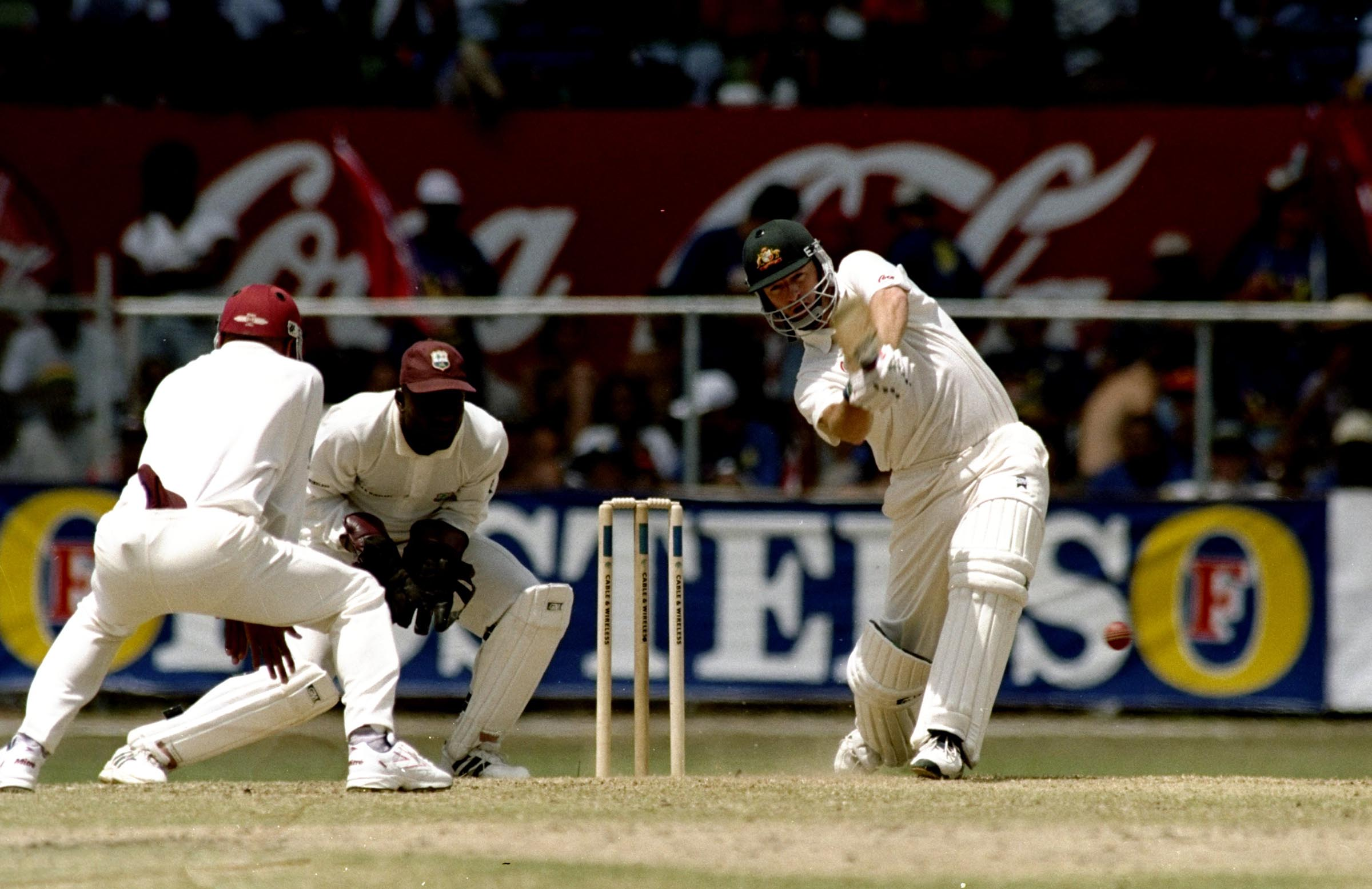 Waugh continued his outstanding series with a brilliant 199 // Getty
