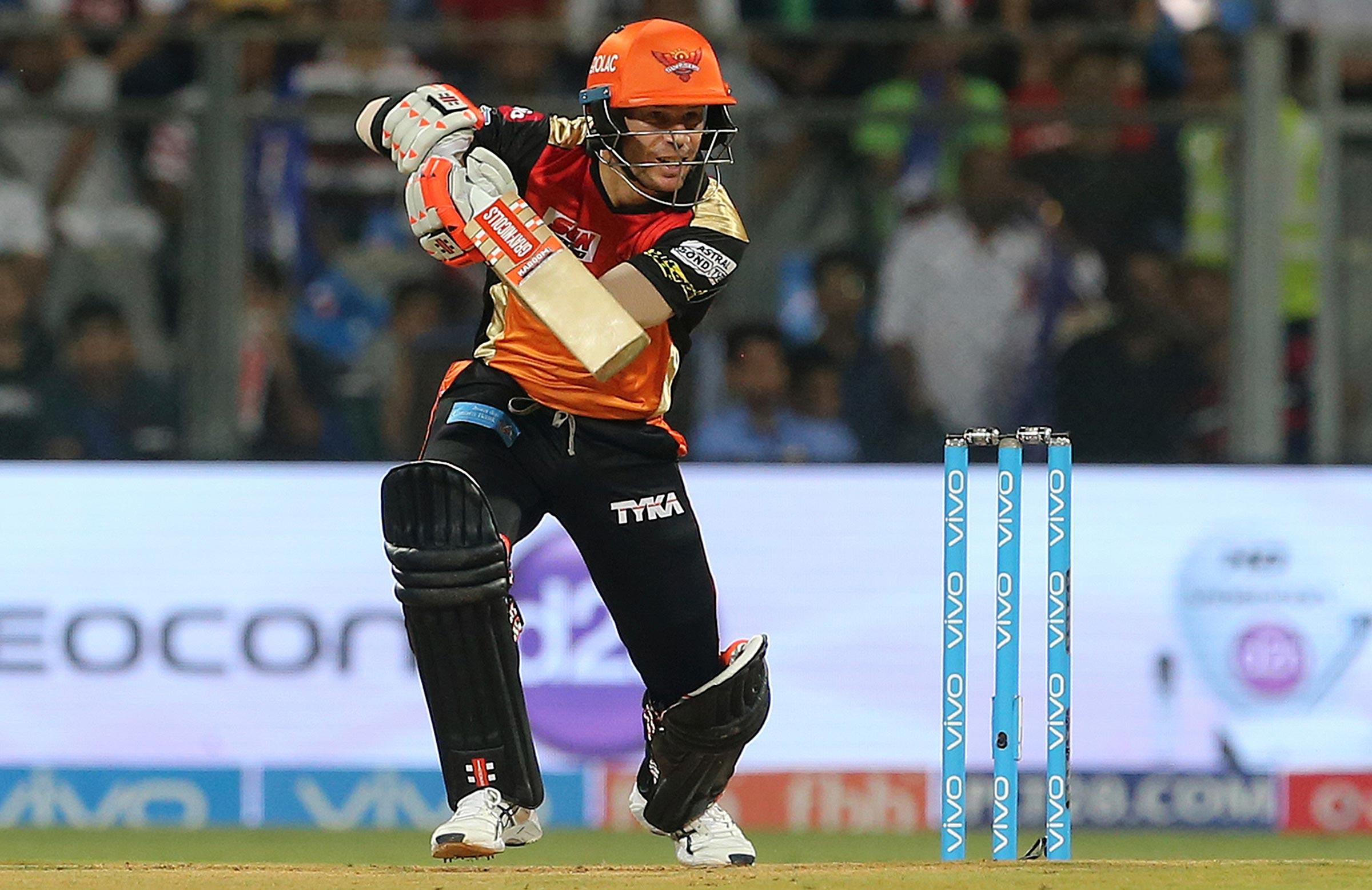 David Warner is back at the Sunrisers Hyderabad // Getty