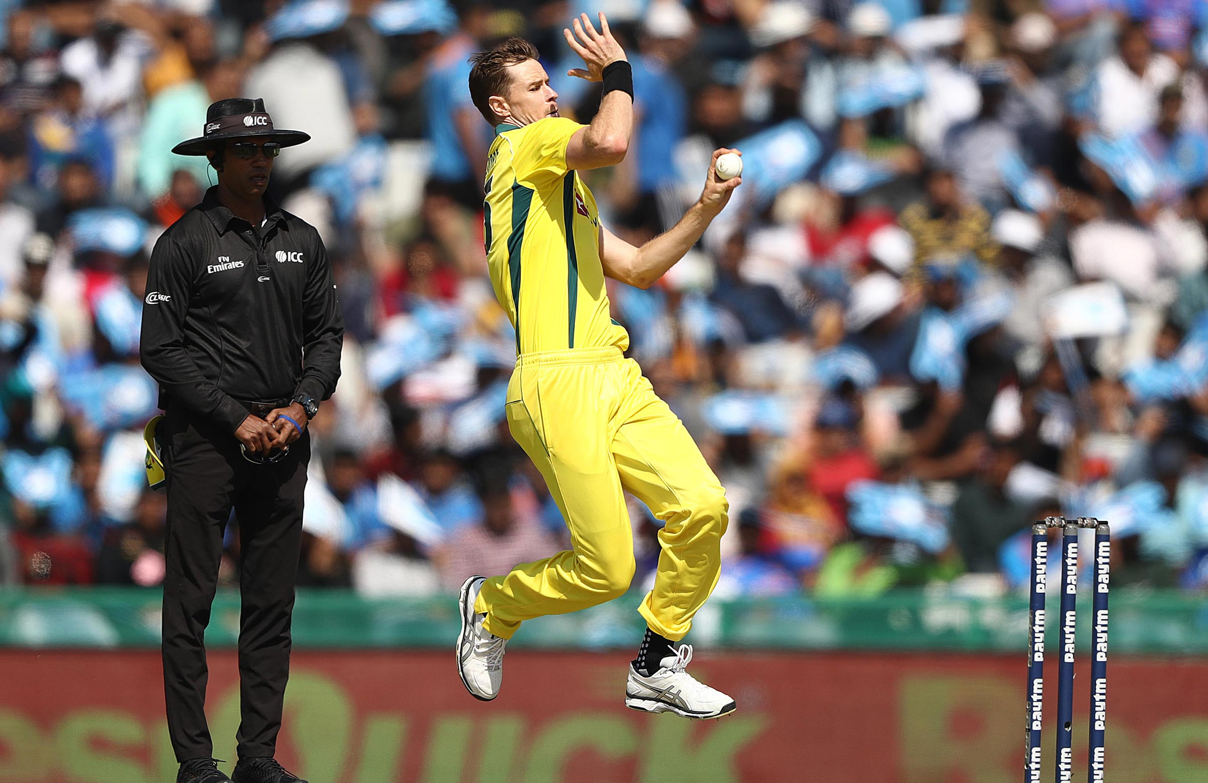 The IPL looms as a Cup audition for Behrendorff // Getty