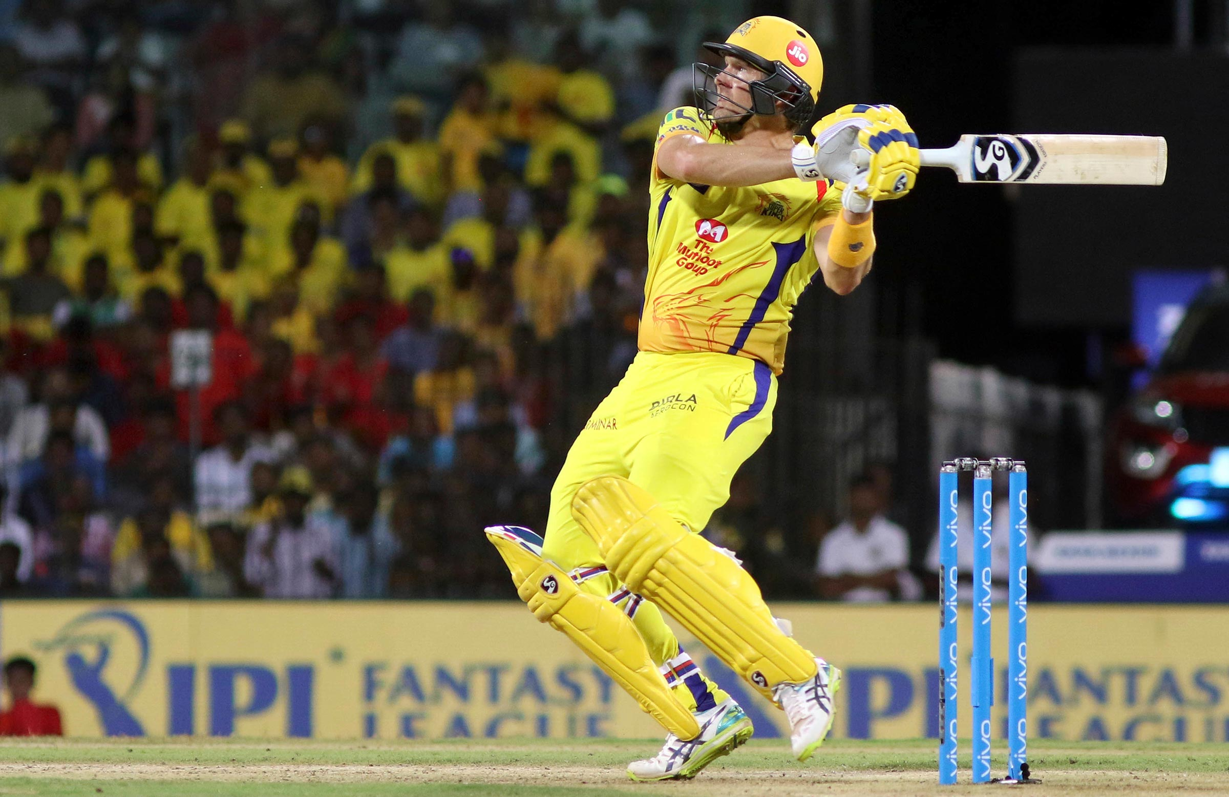 Watson scored a century in last year's IPL final // AAP