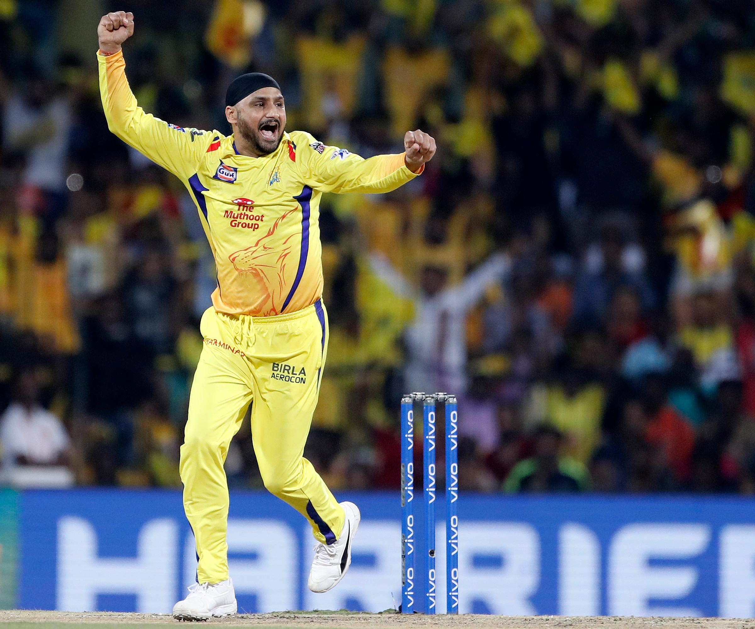Harbhajan was the star for the Super Kings // AAP