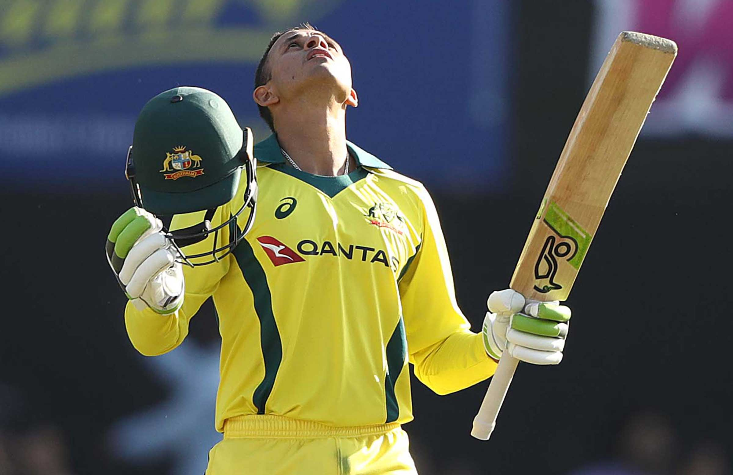 Khawaja celebrates his century // Getty