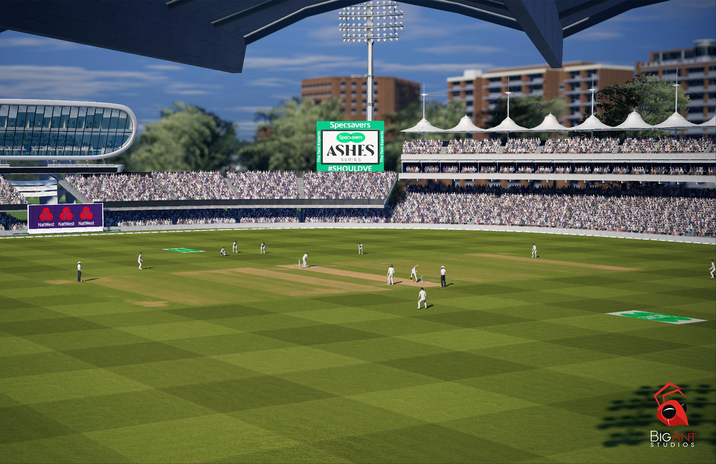 A panoramic view of Lord's // Big Ant Studios