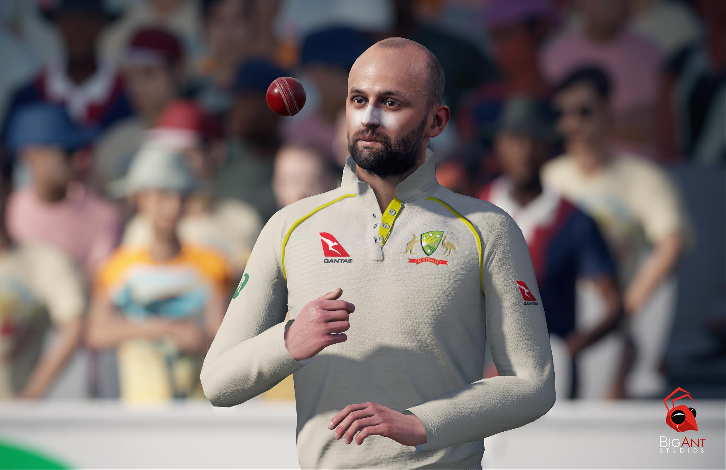 Nathan Lyon in action // Big Ant Studios