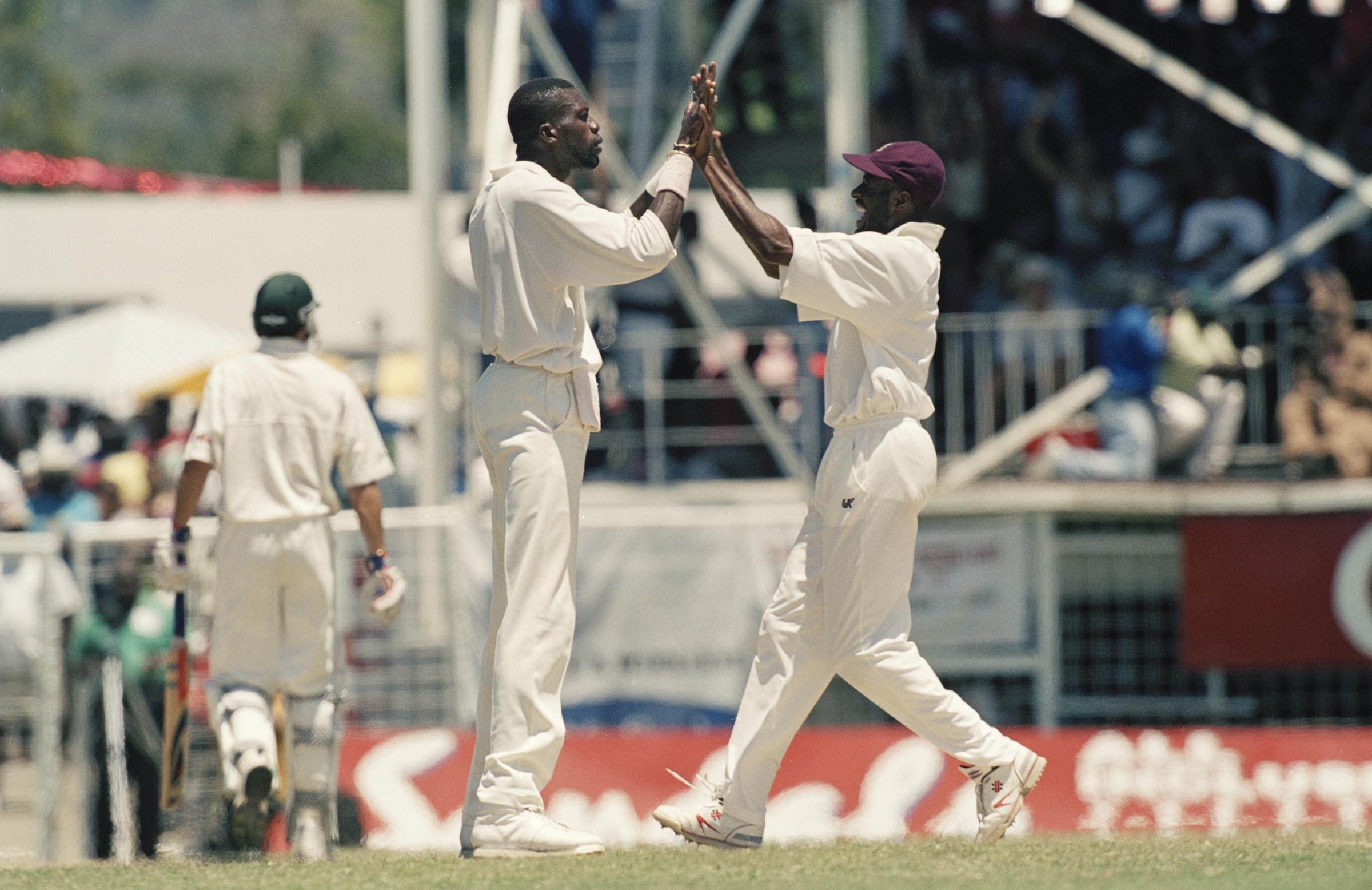 The Antigua Test was Curtly Ambrose's last against Australia // Getty
