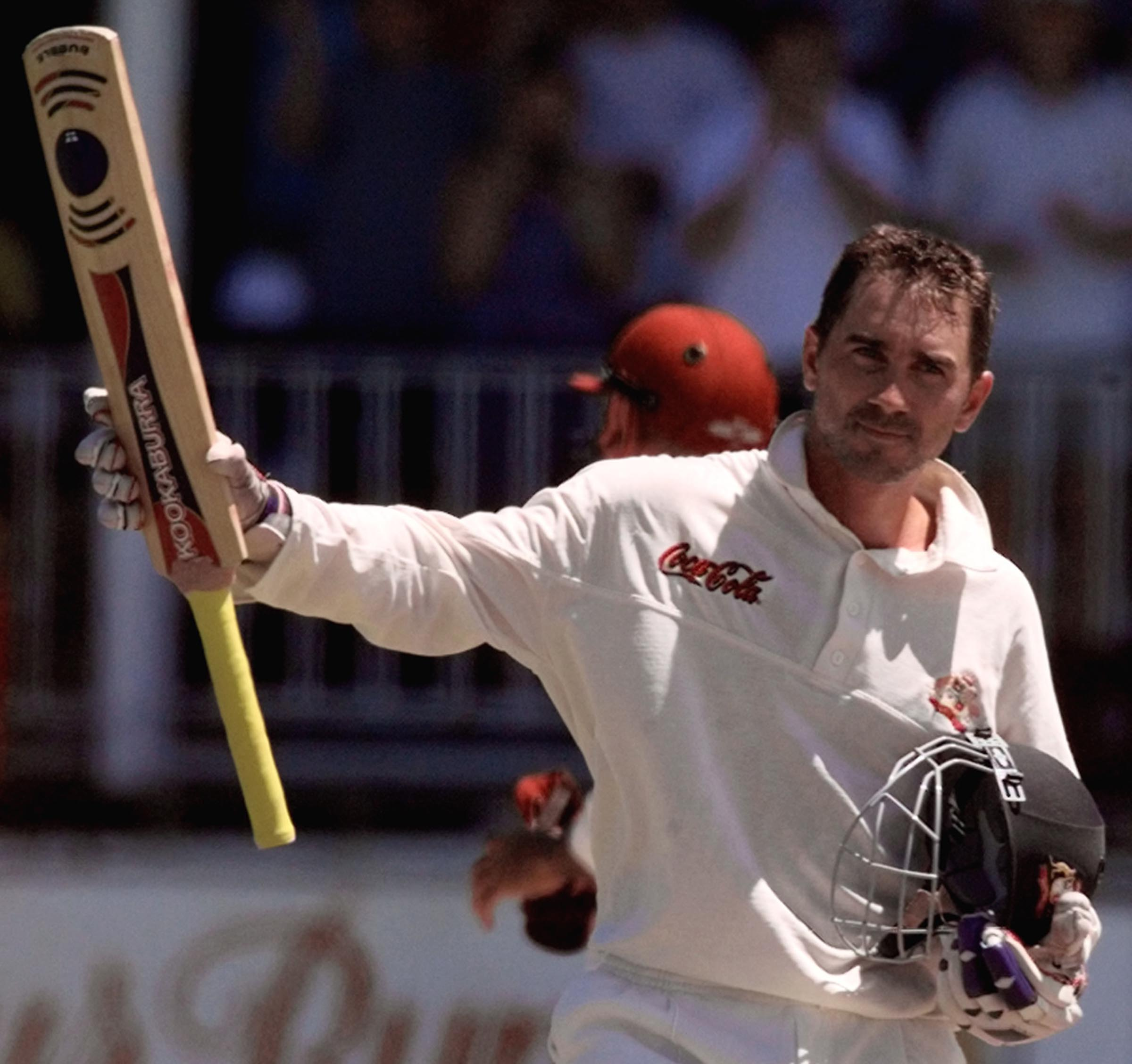 Justin Langer produced one of the most important innings of his career // Getty