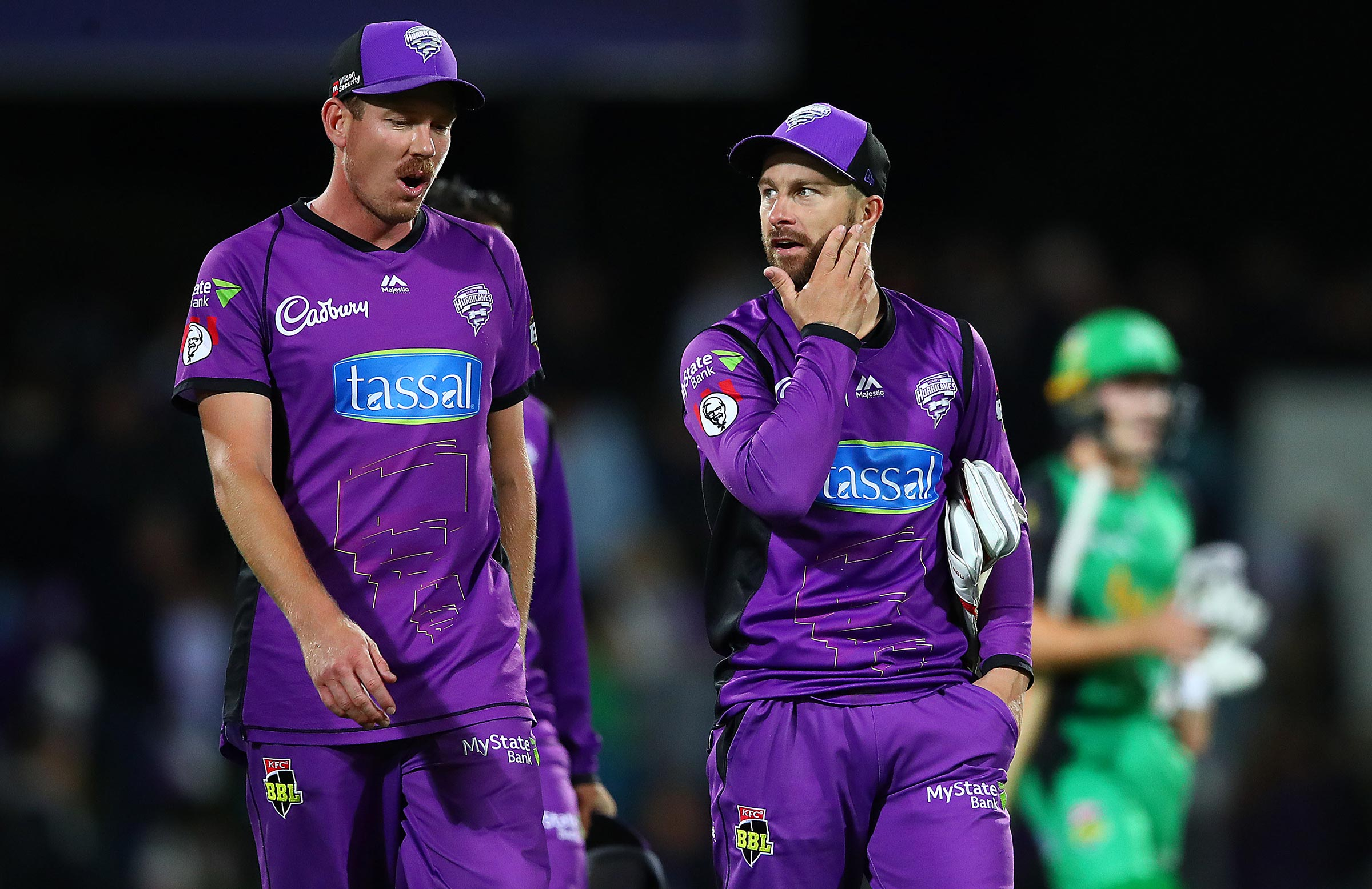 The first-placed Hurricanes were ousted early in the cut-throat BBL|08 finals // Getty