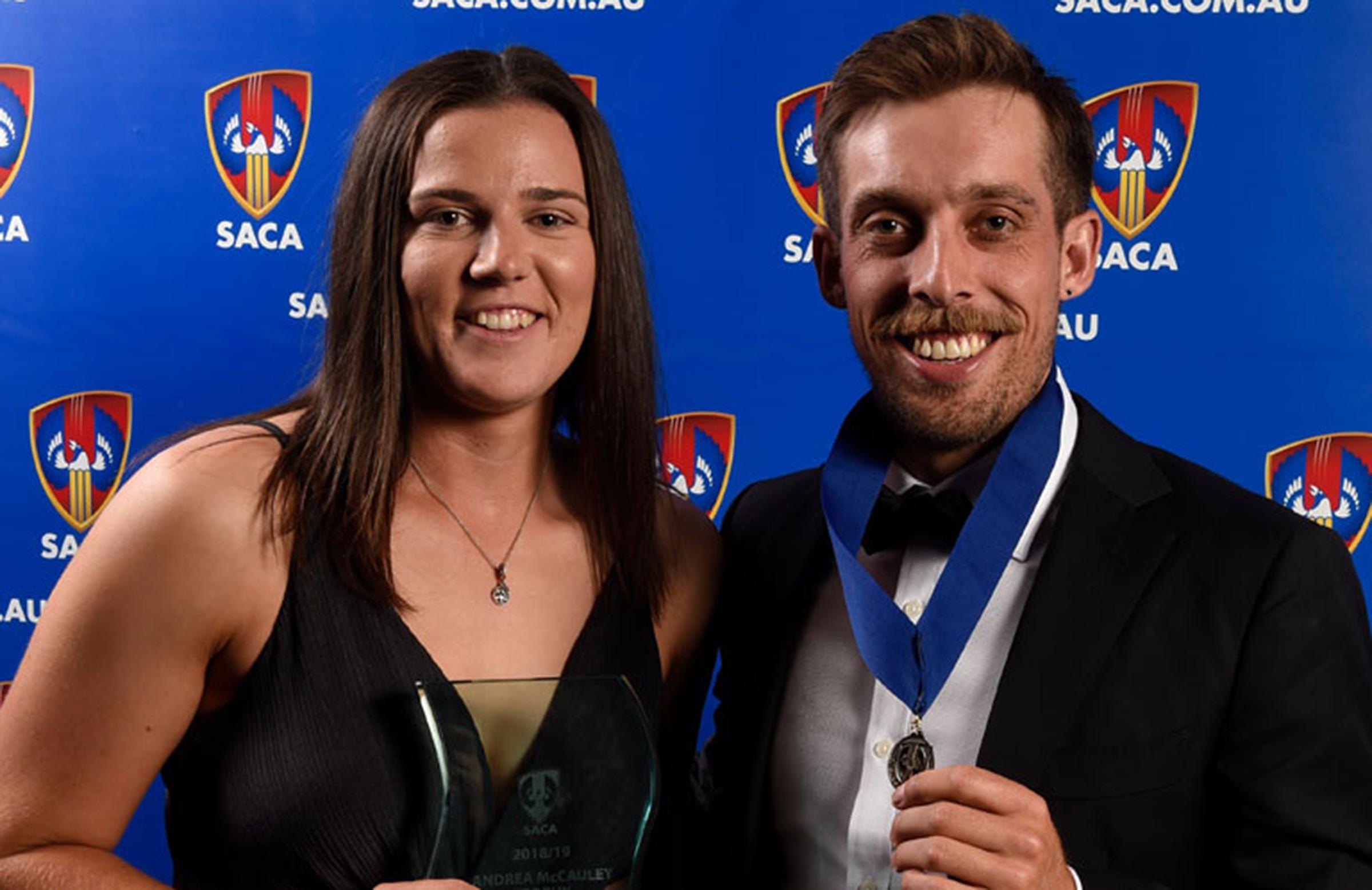 Jake Lehmann and Tahlia McGrath