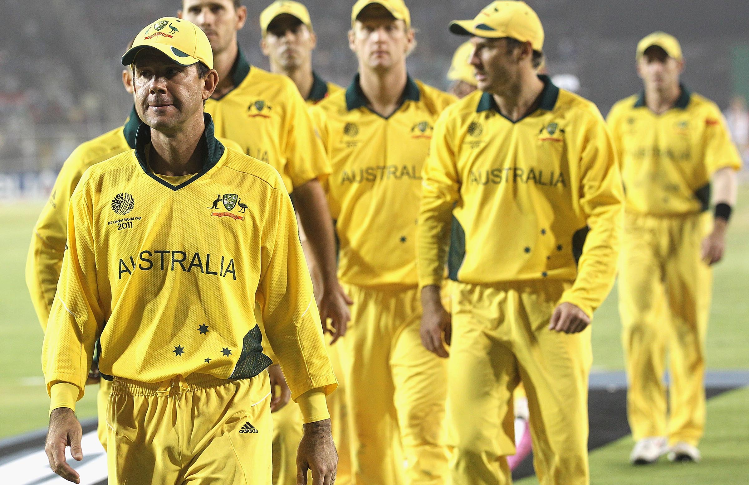 Cursed kit? The 2011 Aussie strip is the only one not to feature in the final since 1992 // Getty