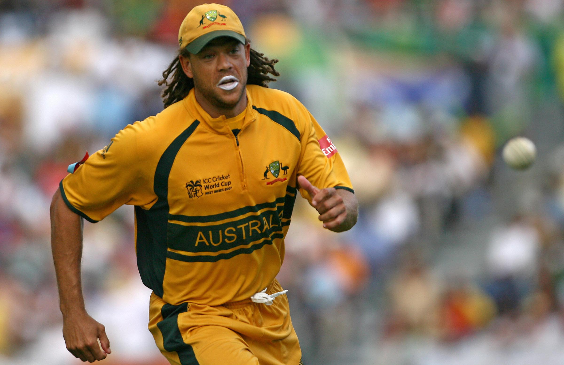Hat-trick heroes: Andrew Symonds was part of Australia's unprecedented third-straight final win in 2007 // Getty