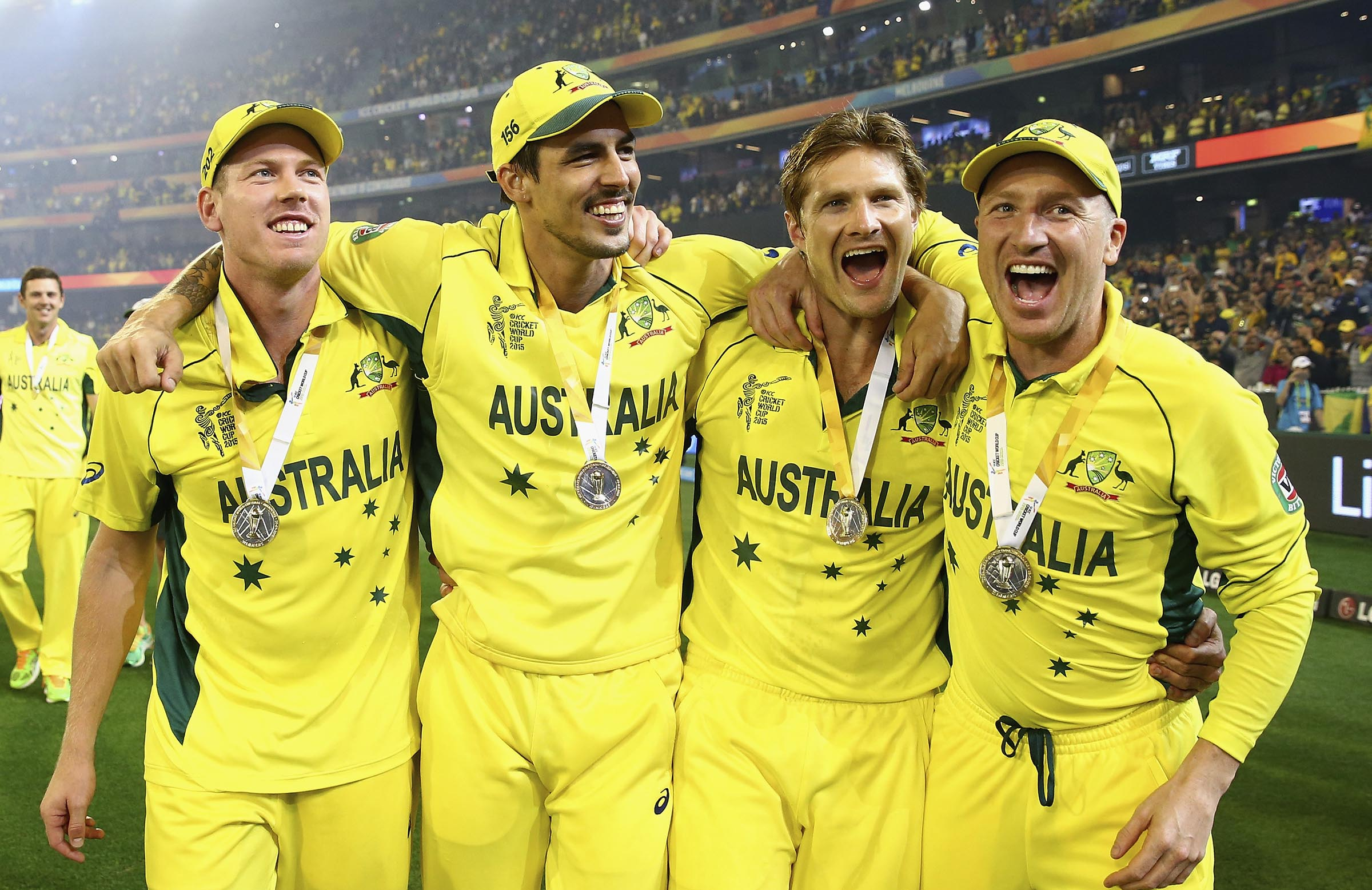 Australian gold: The 2015 edition enjoyed final glory against the Kiwis // Getty
