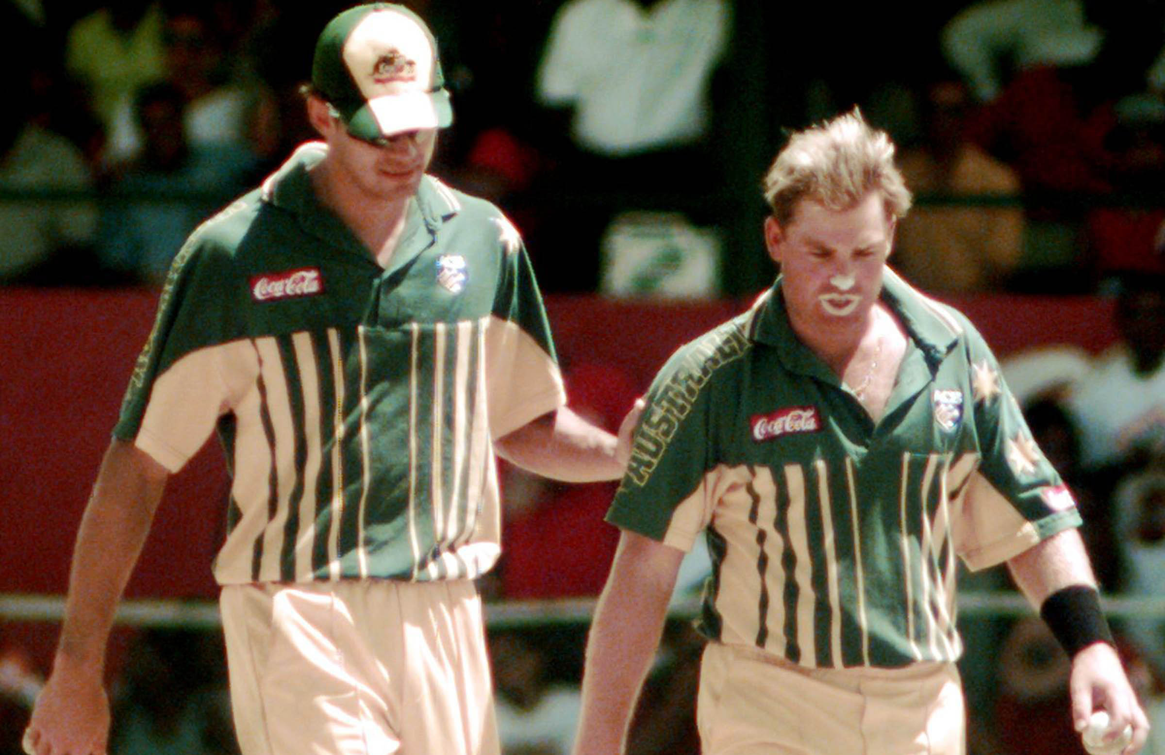 Shane Warne was struggling after being dropped from the Test side in Antigua // AAP