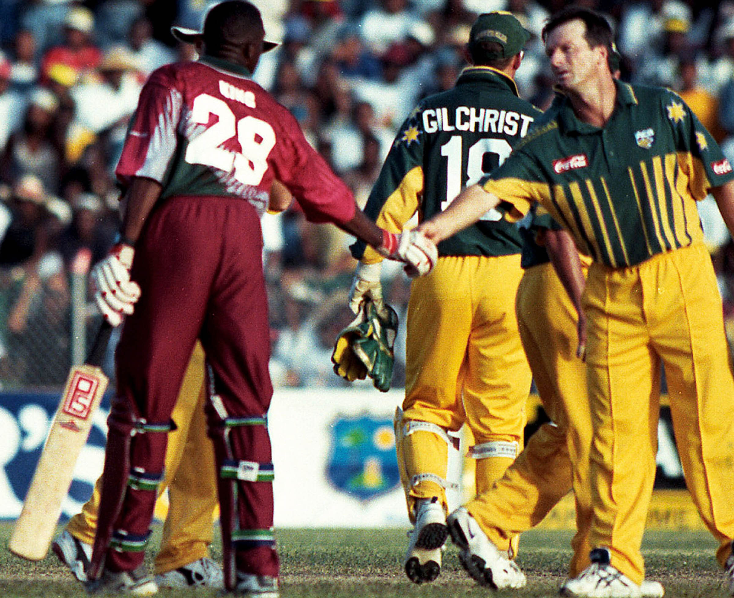 Steve Waugh knew he was under pressure for his place // Getty