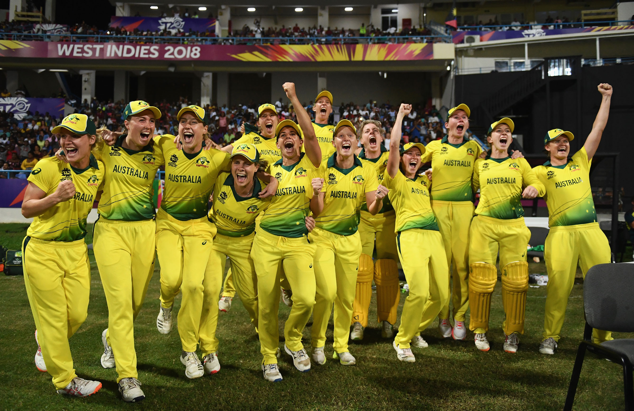 Molineux was part of Australia's World T20 winning squad // Getty