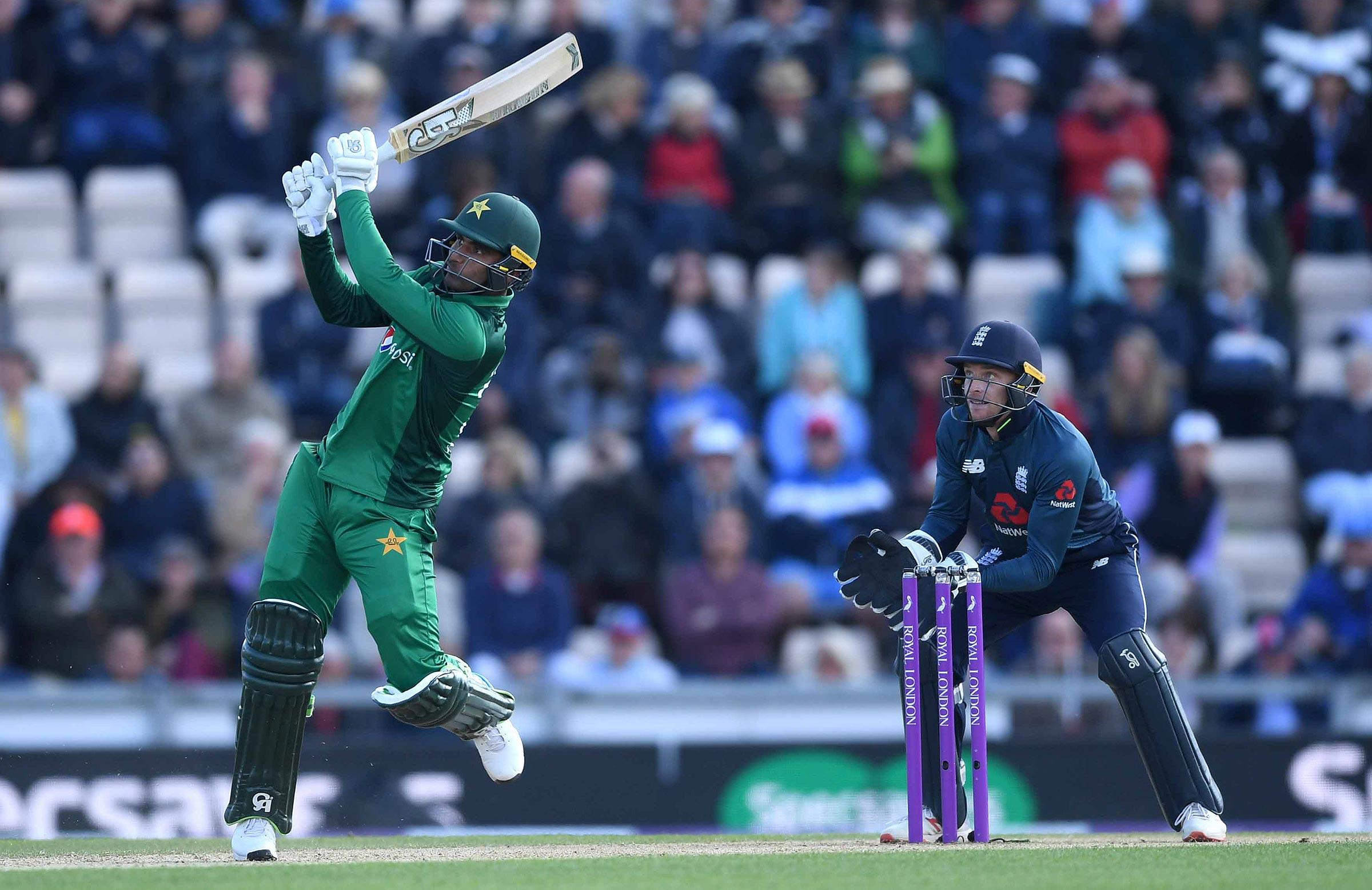 Fakhar Zaman gave Pakistan a chance of victory // Getty
