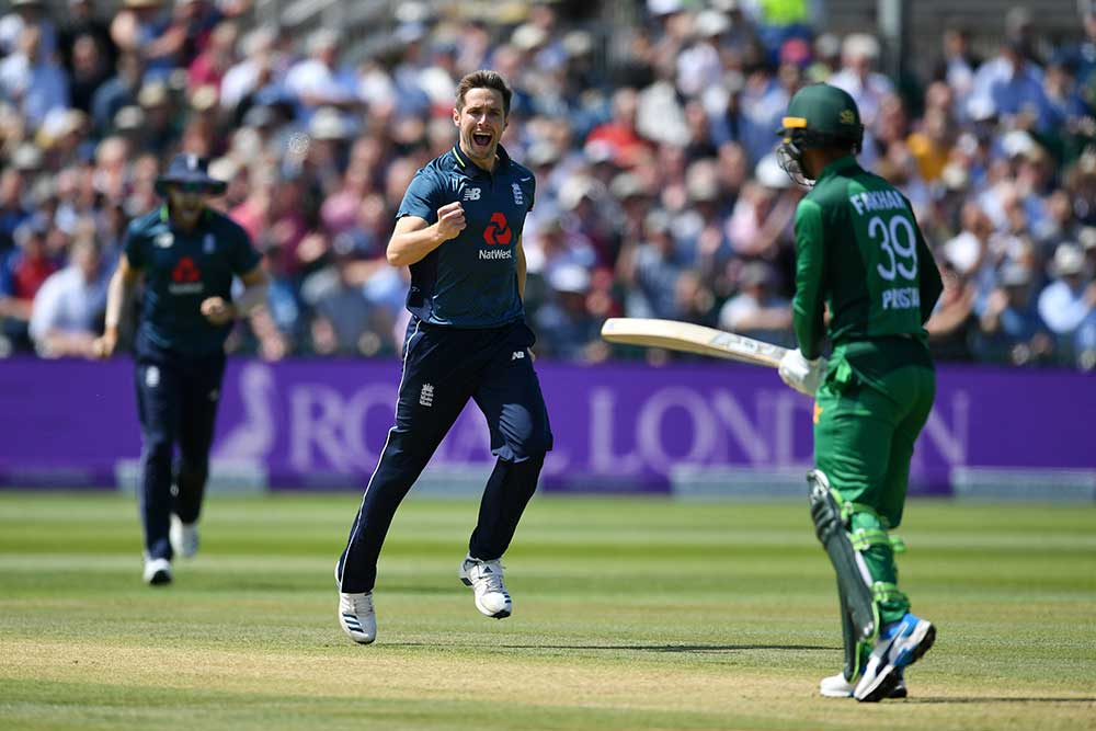 Woakes took two early wickets for England // Getty