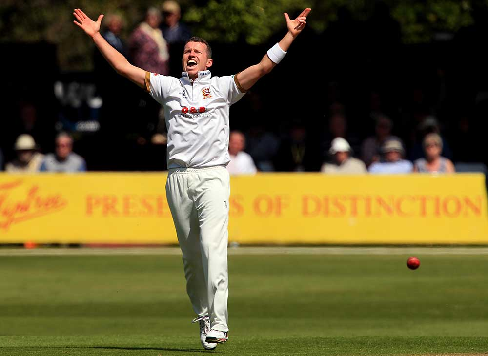 Siddle has 100 County Championship wickets // Getty
