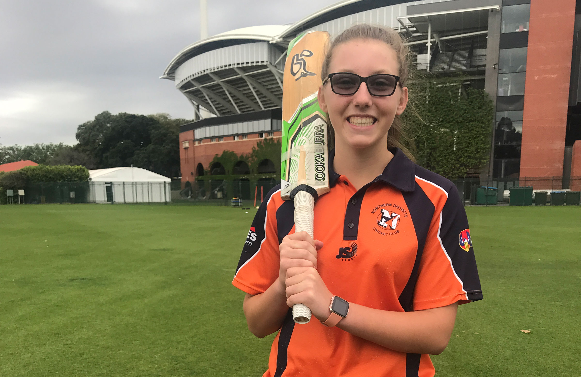 Darcie Brown is a player with serious promise // SACA