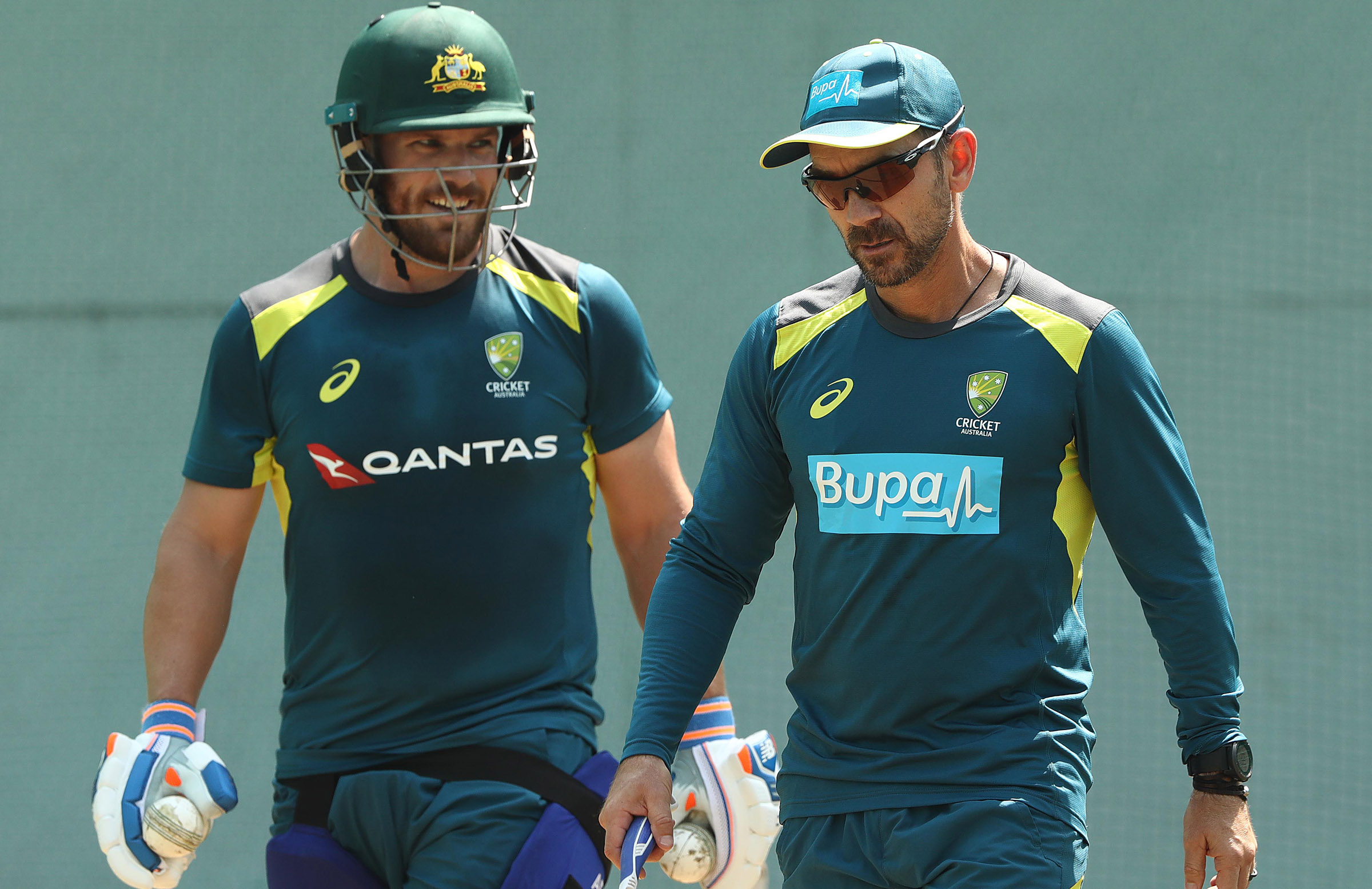 Langer said he got back 'on the tools' to work closely with his skipper // Getty