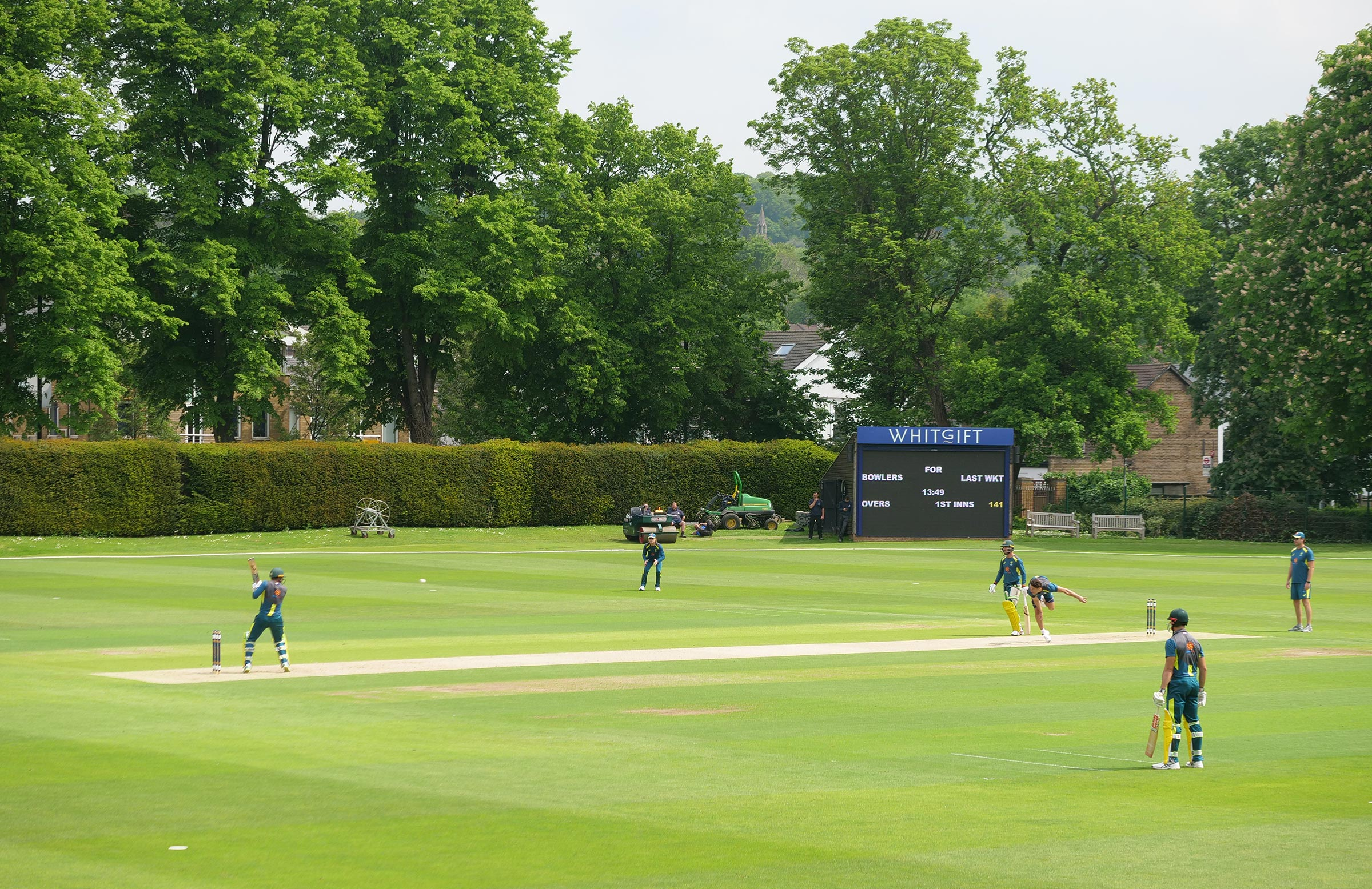 Picturesque surrounds for a hit-out // Cricket Network