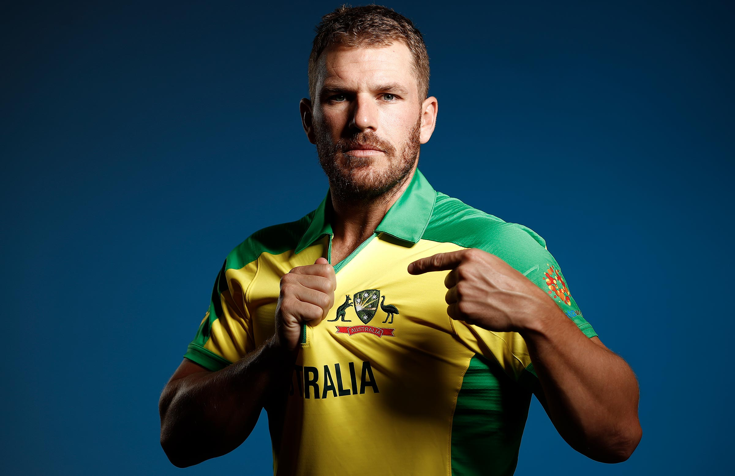 Finch will lead his country at this year's World Cup // Getty