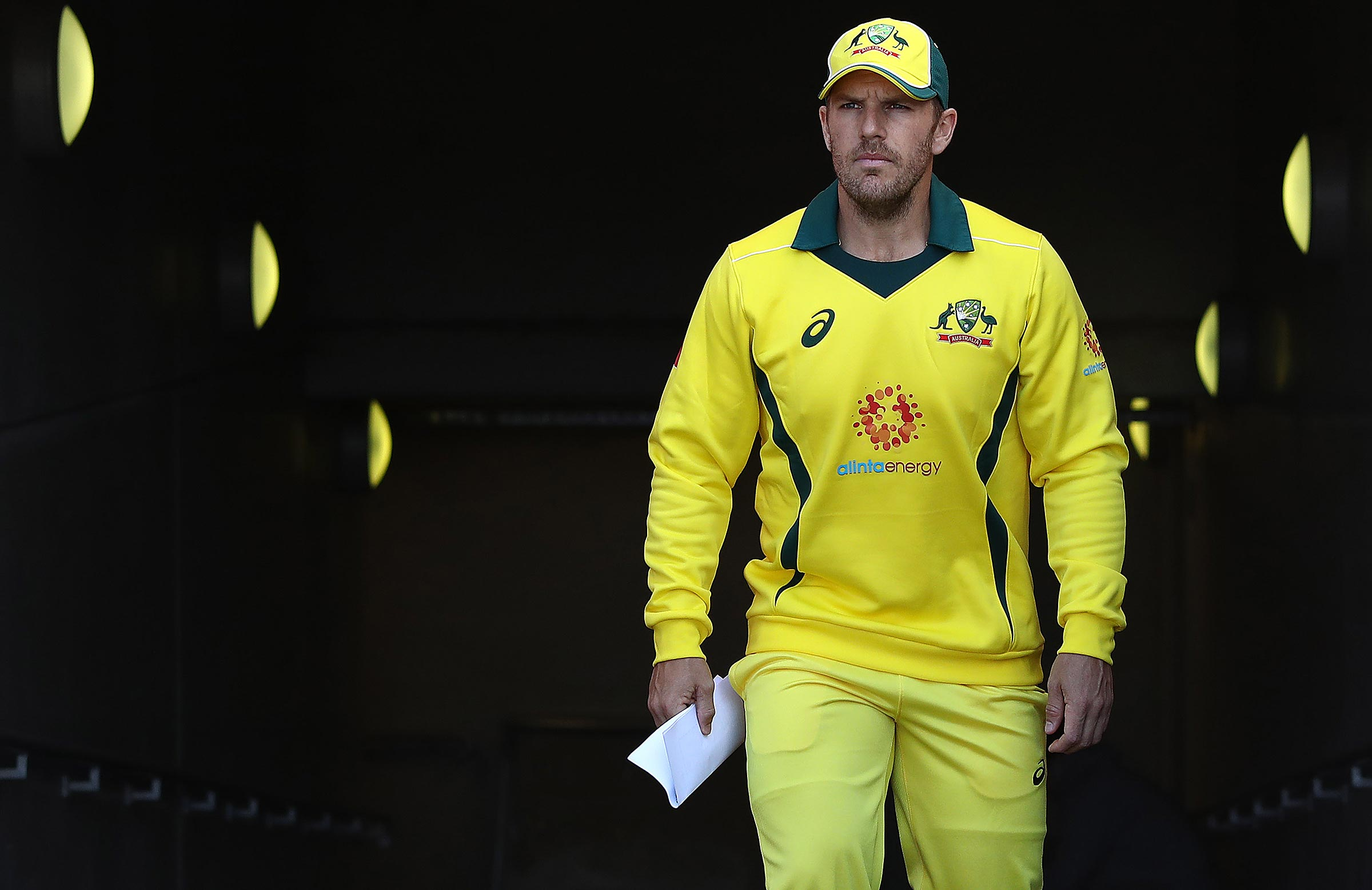 Finch took on the ODI captaincy last year // Getty