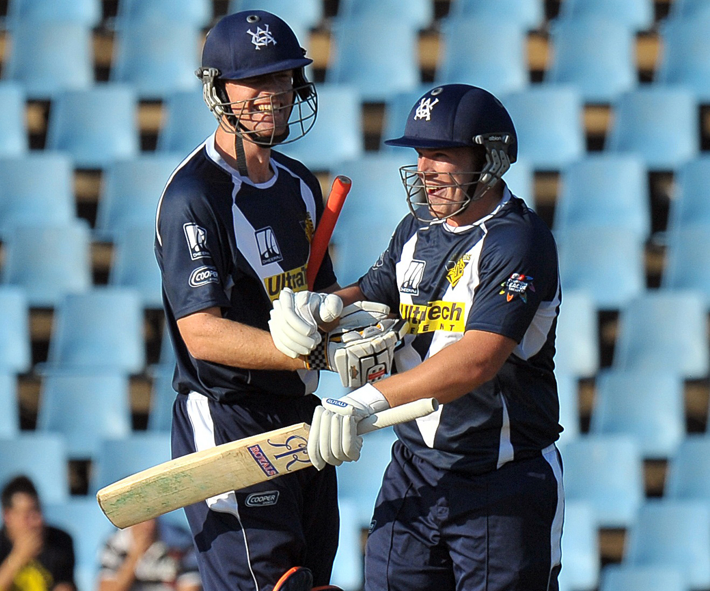 McDonald and Finch at the crease together for Victoria // Getty