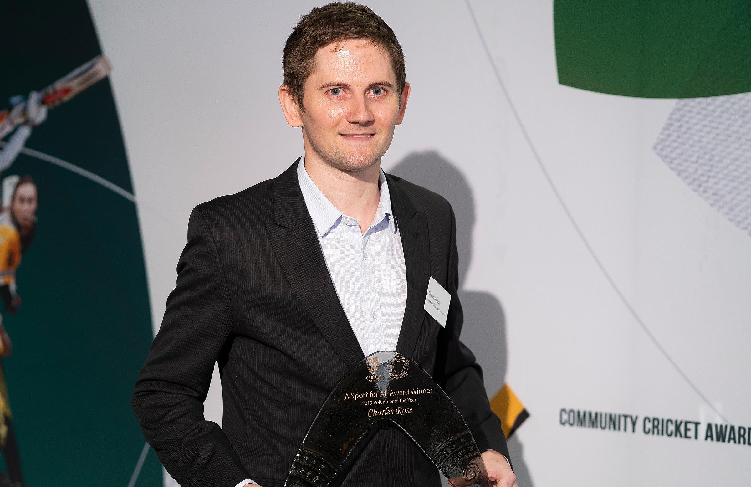 Volunteer of the Year, Charles Rose