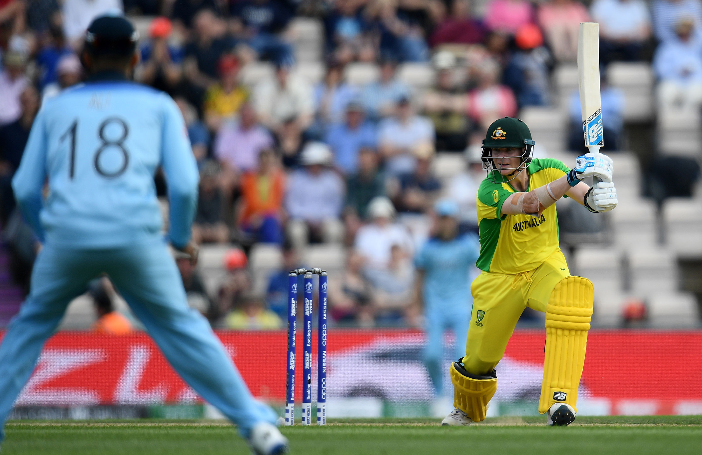 Smith hit eight fours and three sixes // Getty