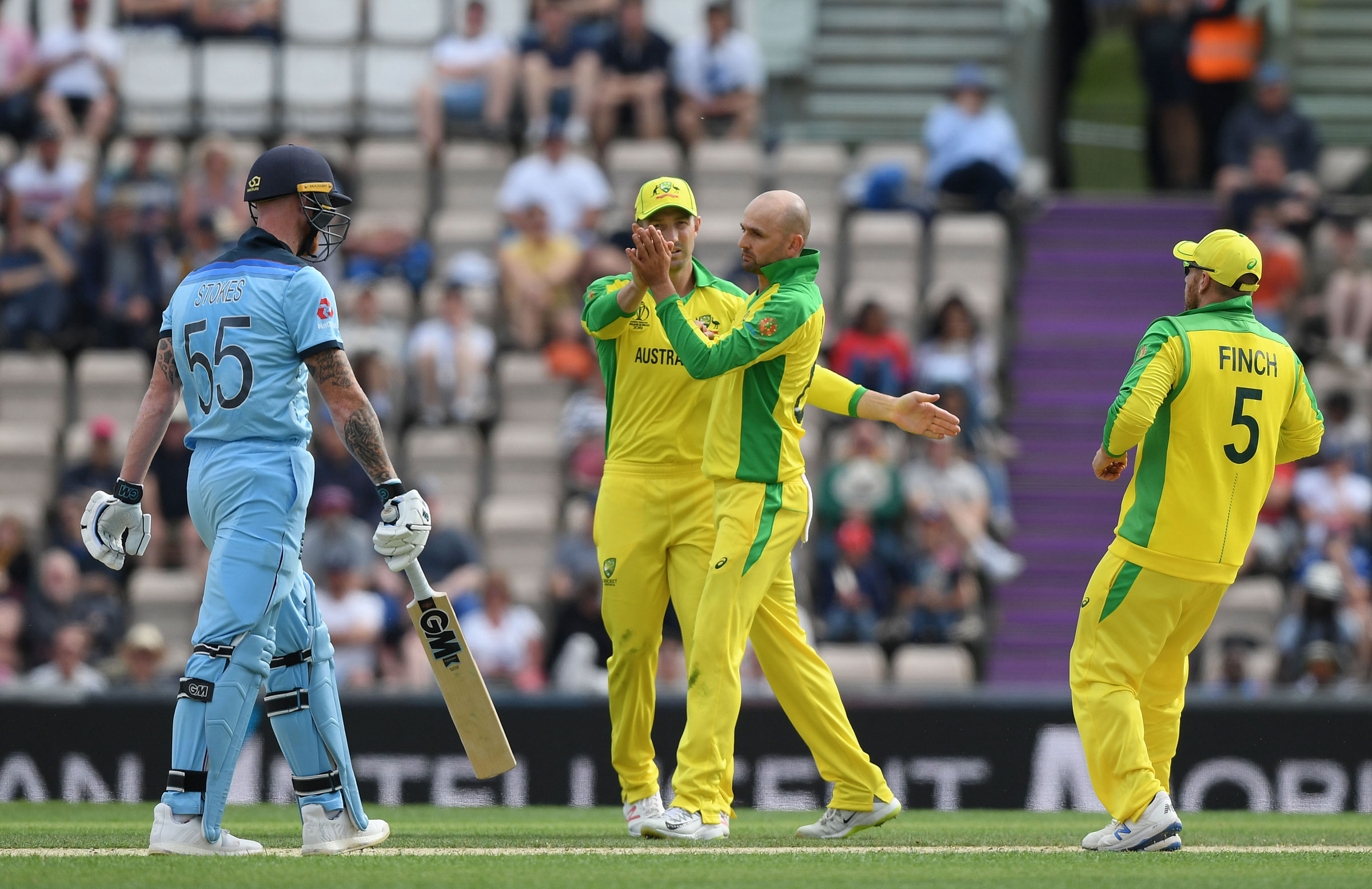 Nathan Lyon was economical // Getty