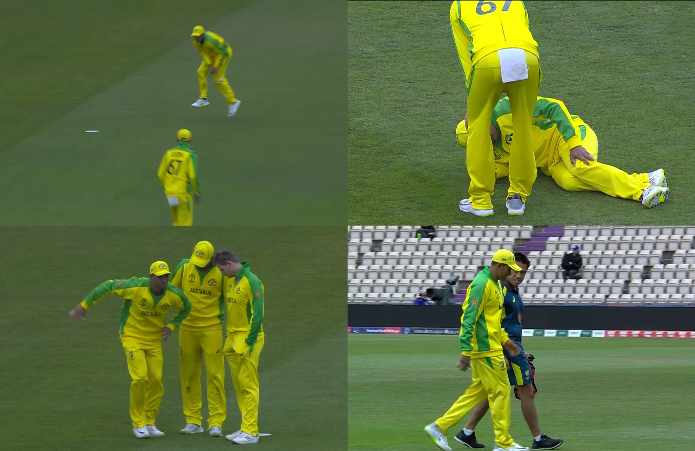 Khawaja suffered a scare in Southampton // Fox Cricket