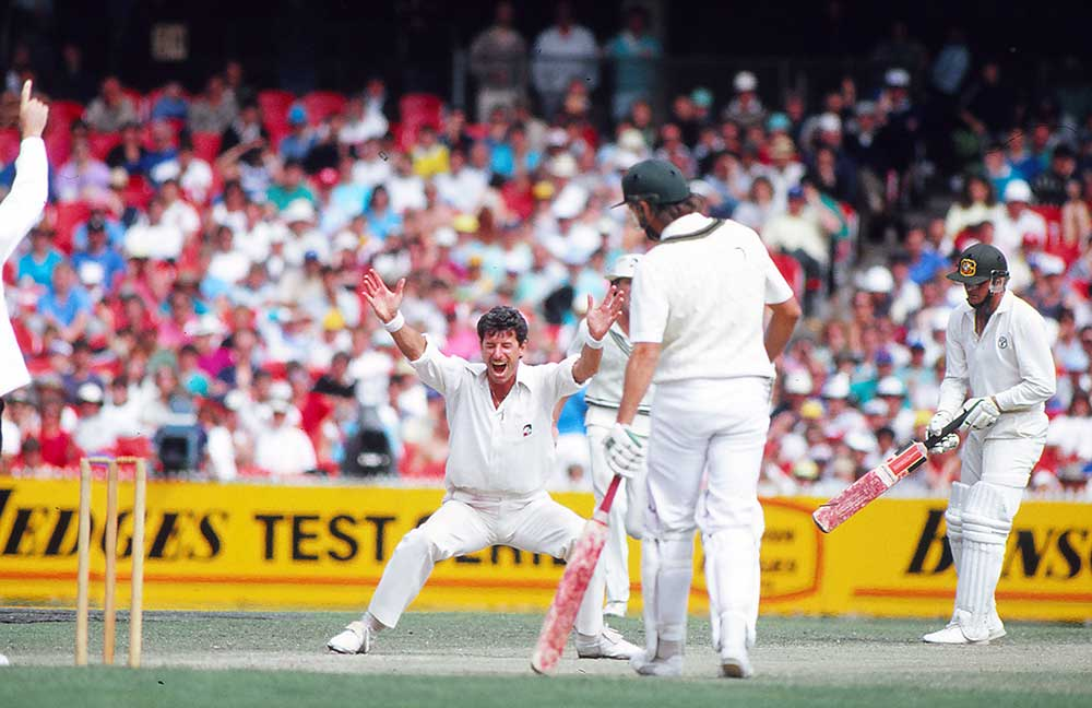 Sir Richard Hadlee in the 1987 Boxing Day Test // Getty
