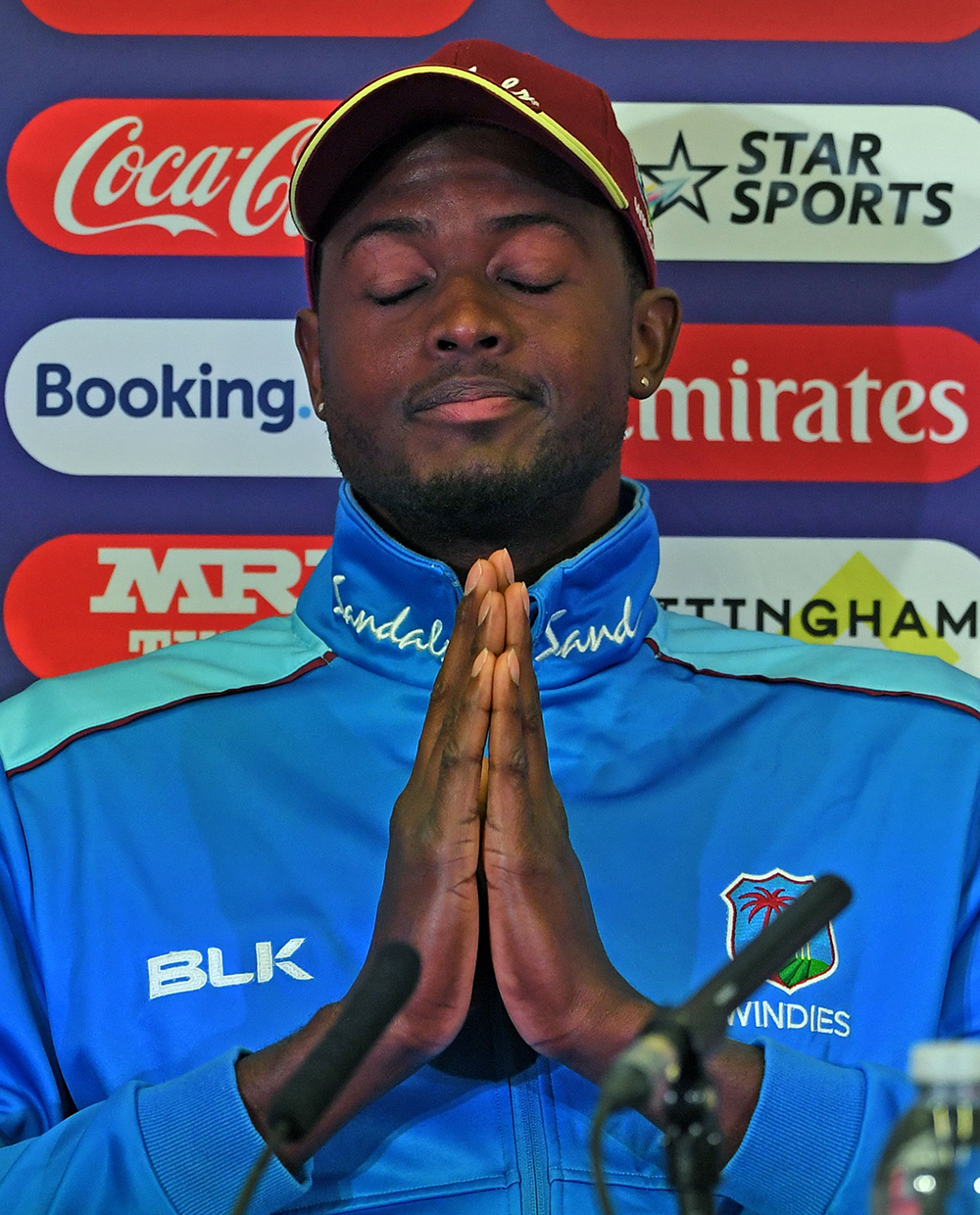 Jason Holder will be praying for a fully fit Chris Gayle and Andre Russell against Australia // Getty