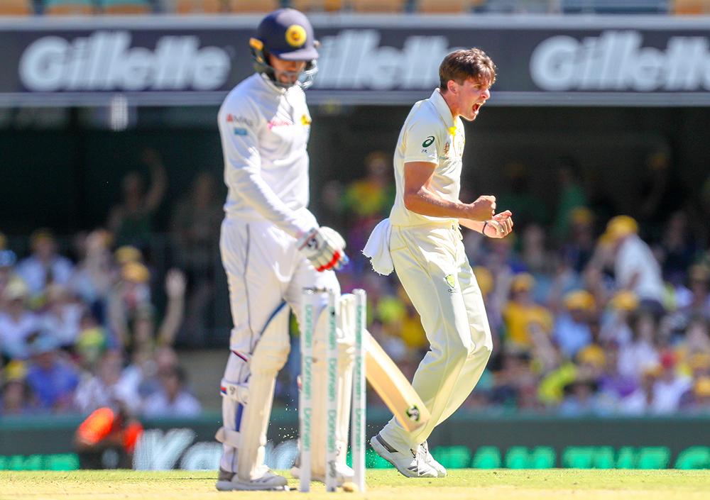 Richardson found early success on home soil against Sri Lanka // Getty
