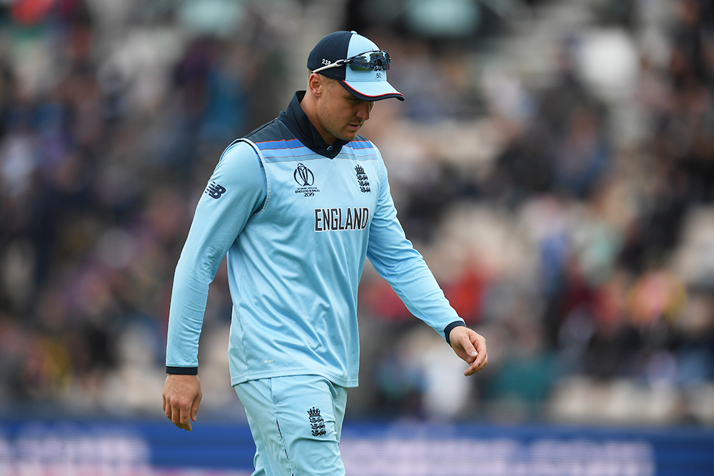 Jason Roy did not bat in England's win over the West Indies // Getty