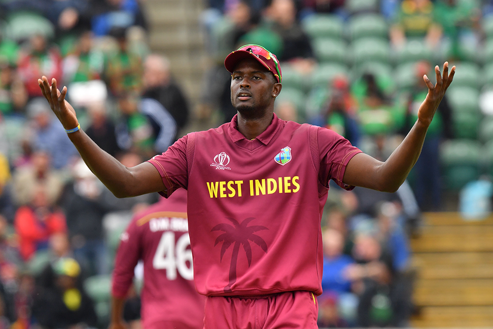 Jason Holder and the West Indies have been frustrated by recent results // Getty