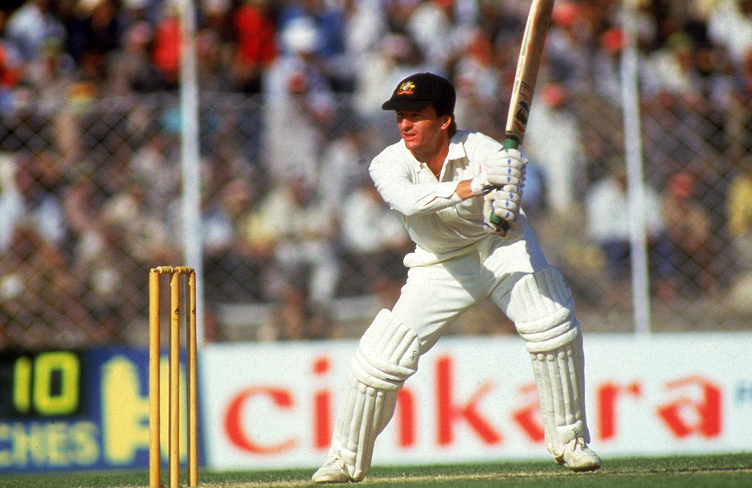 Steve Waugh played a crucial innings in Lahore // Getty