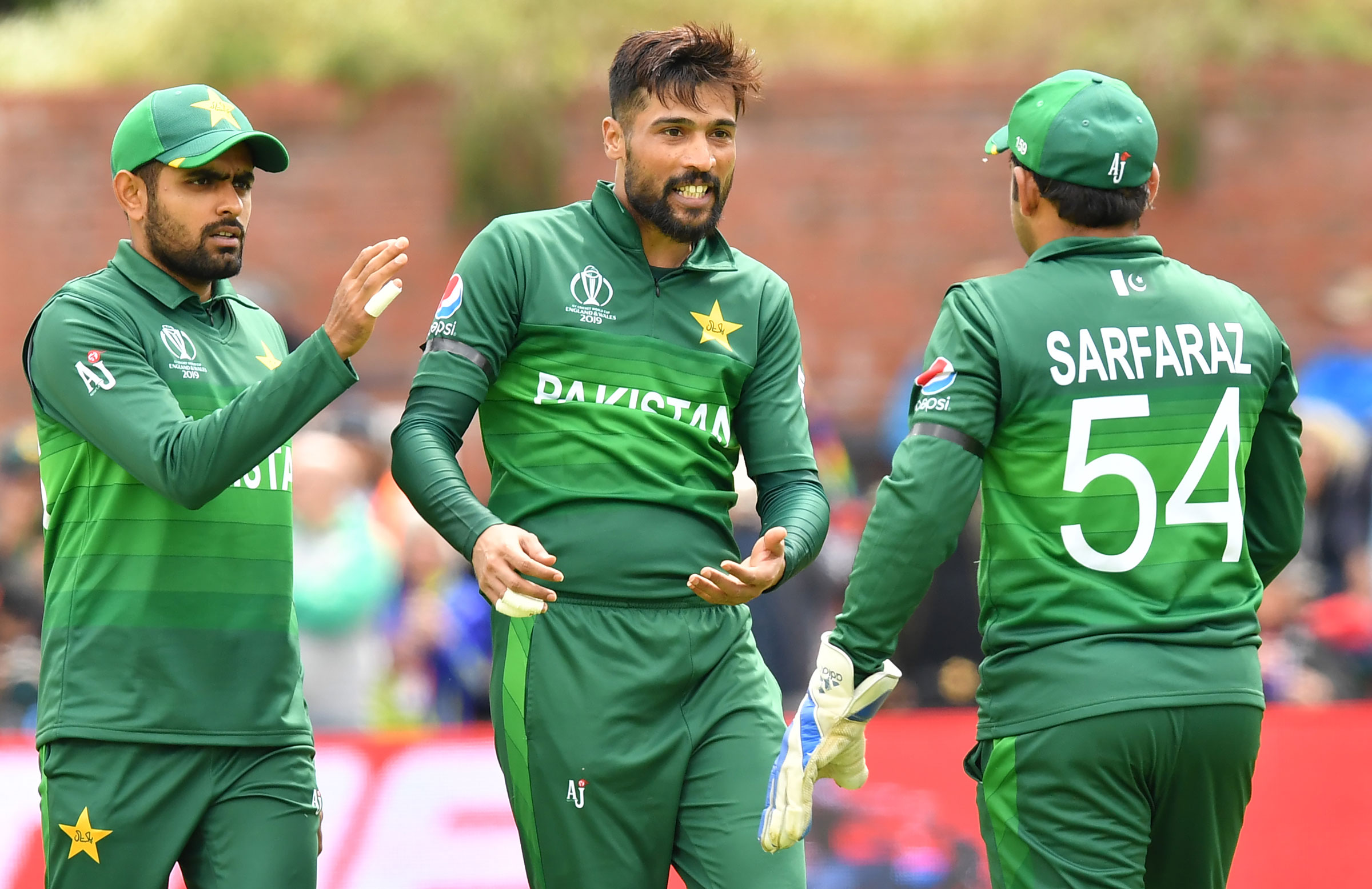 Mohammad Amir collected career-best figures // Getty
