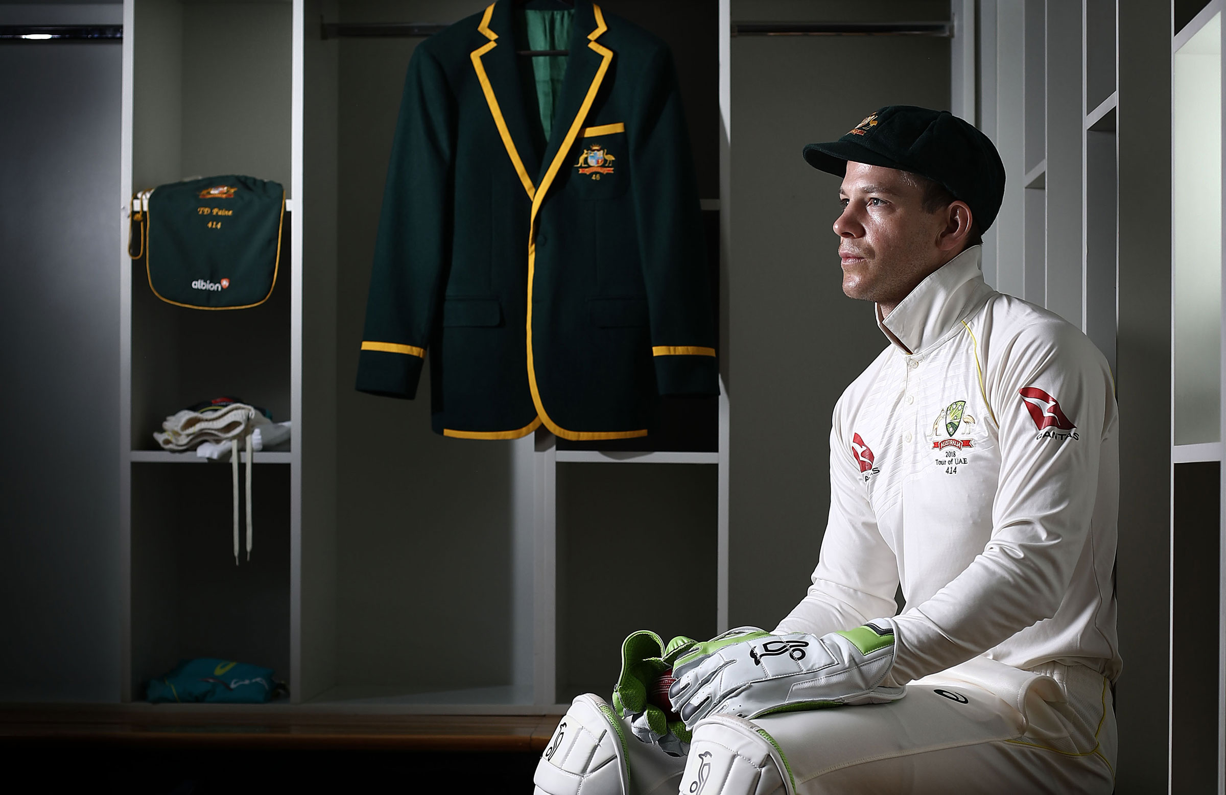 Paine is ready for Ashes challenge // Getty Images