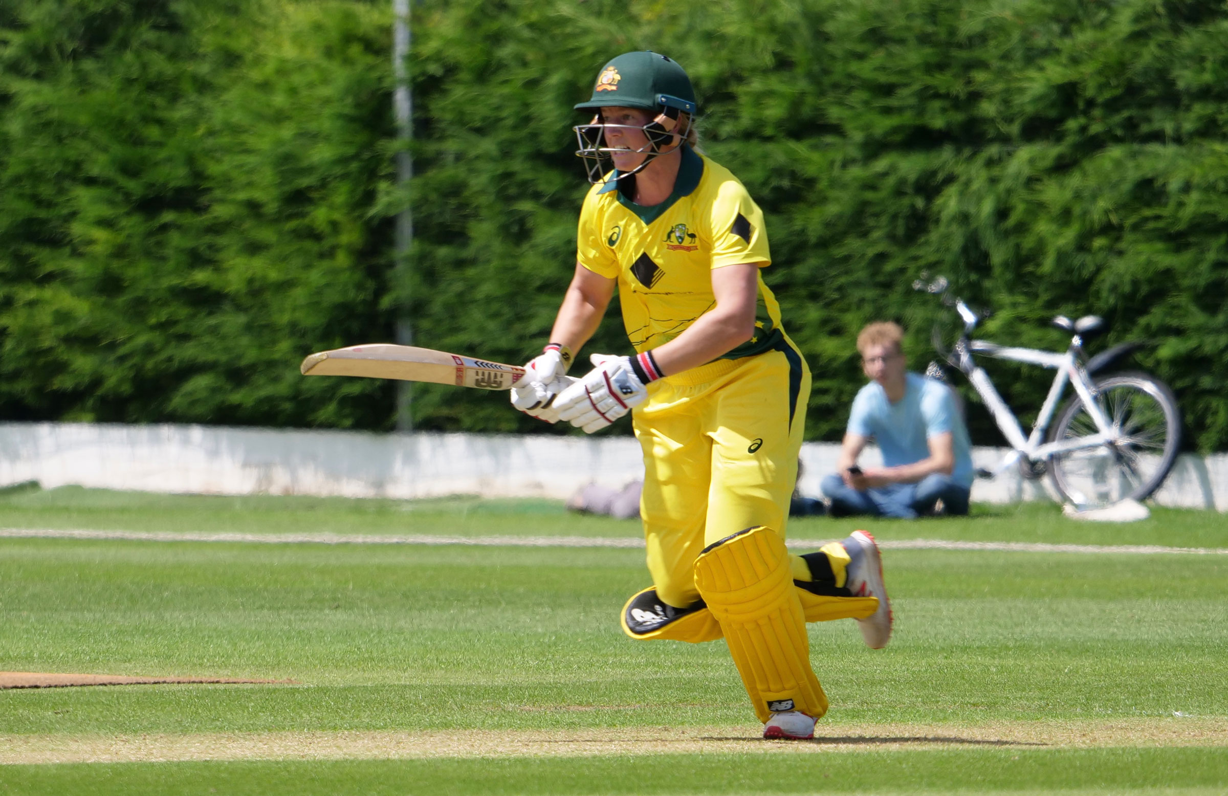 Meg Lanning fell just short of a ton in Loughborough // cricket.com.au