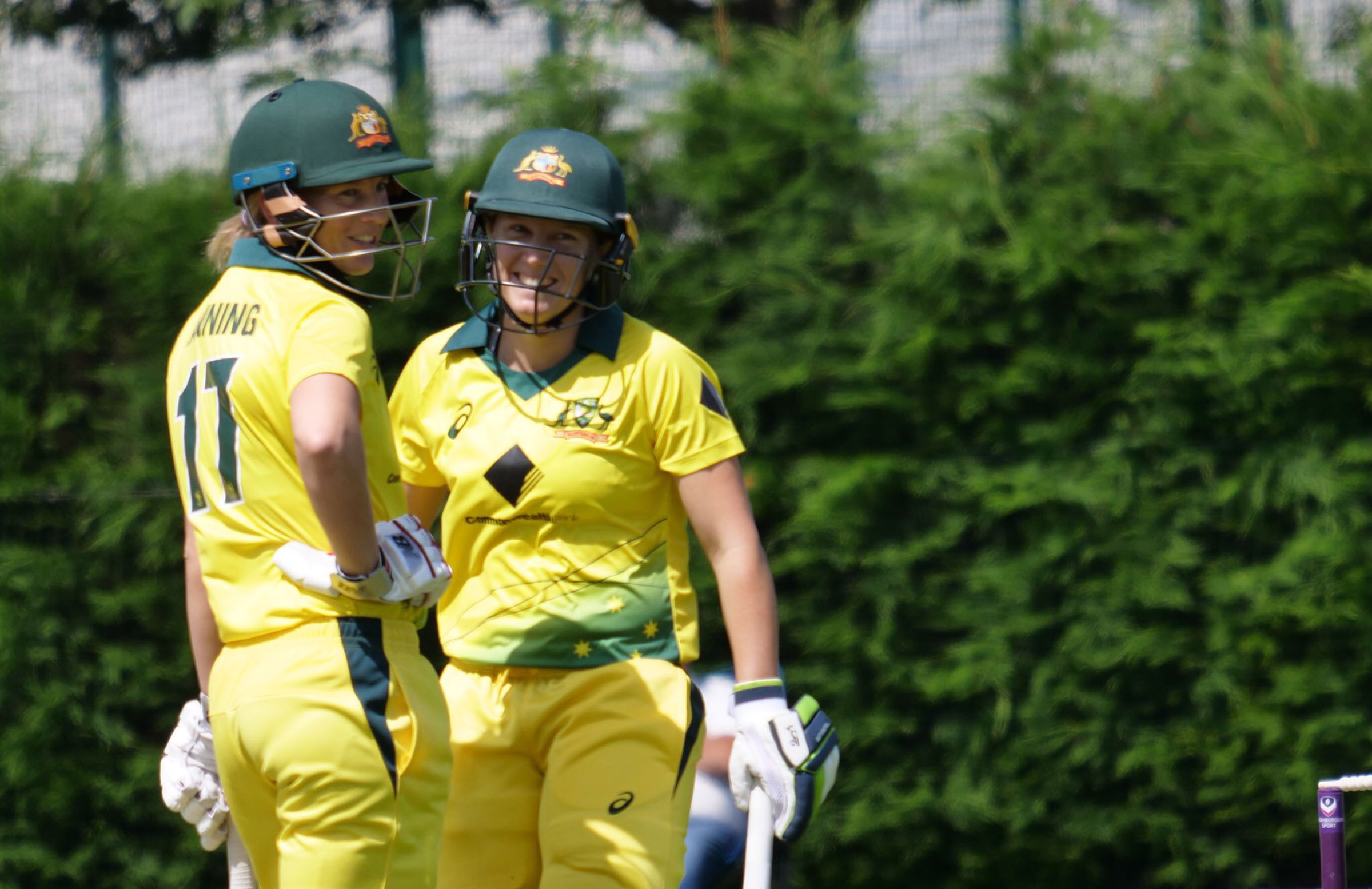 Meg Lanning and Alyssa Healy helped Australia to 5-337 // cricket.com.au