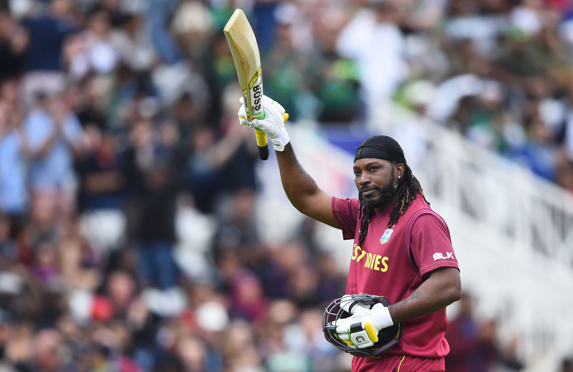Chris Gayle produced an entertaining fifty // Getty