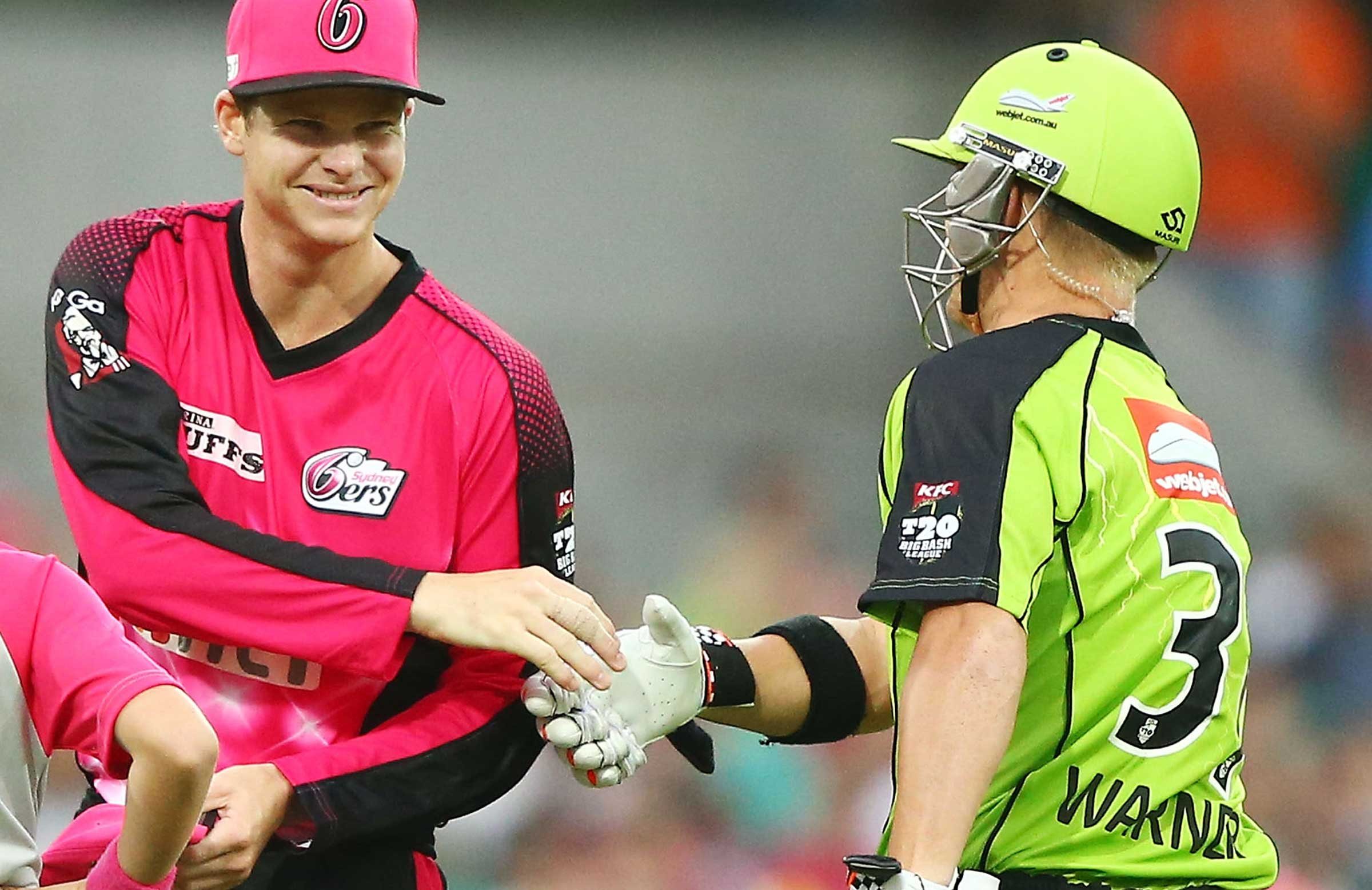 Smith and Warner last played in BBL 03 // Getty