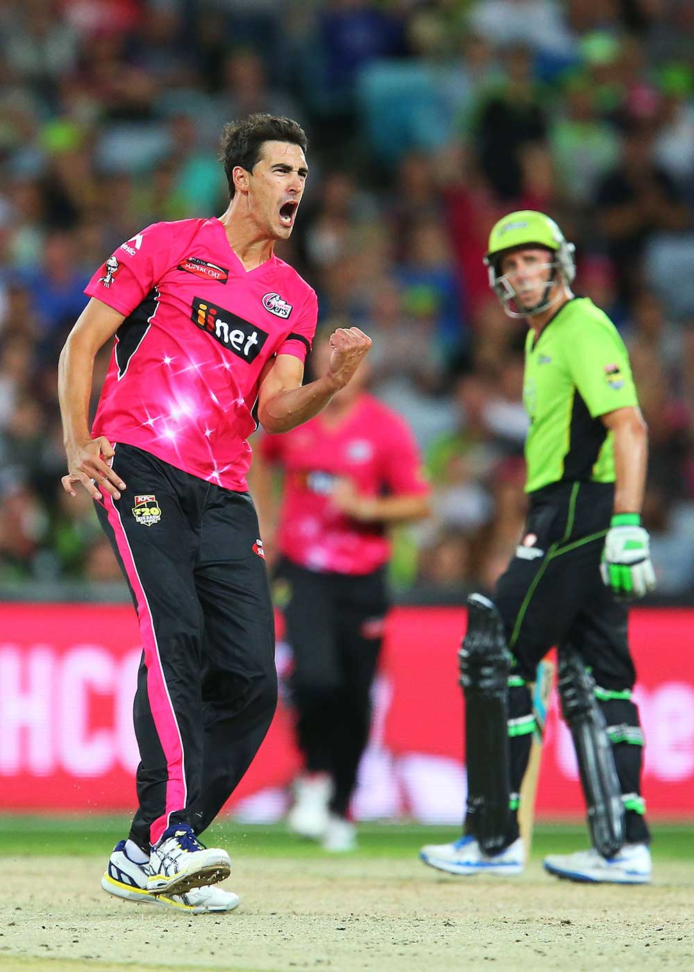 Mitchell Starc last played Big Bash with the Sydney Sixers // Getty