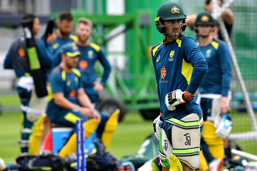 A solid training regime has Maxwell taking a more relaxed approach to his time in the middle // Getty