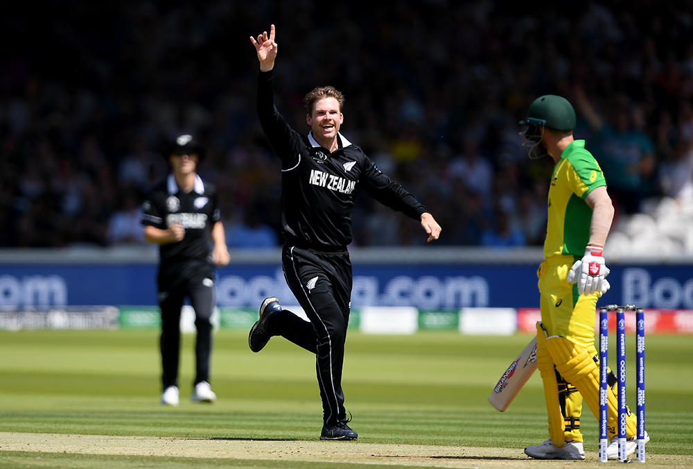 Lockie Ferguson has led New Zealand's bowling stocks to the World Cup semi finals // Getty