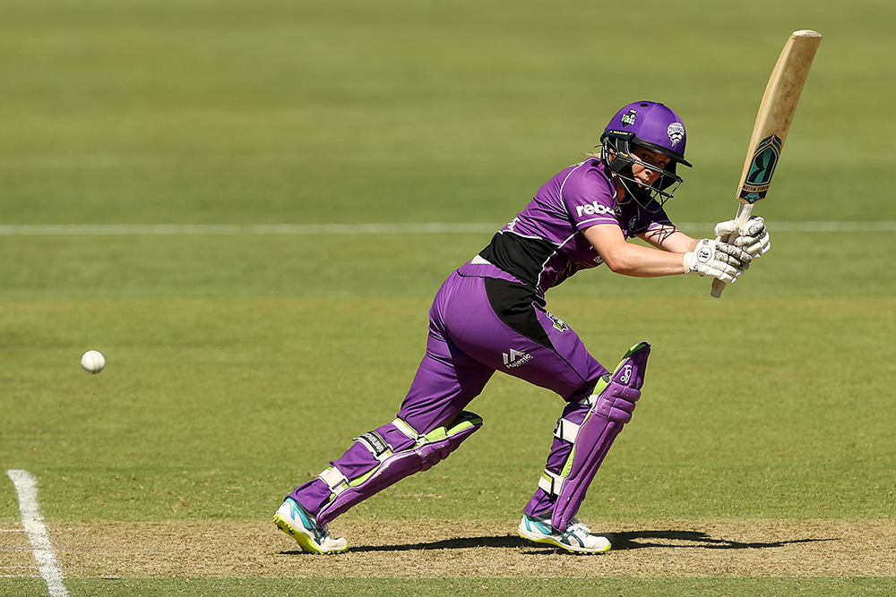Redmayne bats for the Hurricanes in WBBL 04 // Getty