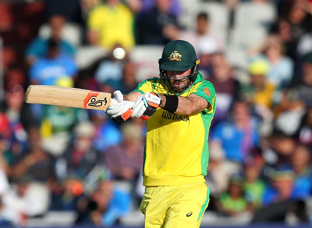 Maxwell has had issues with the short ball // Getty