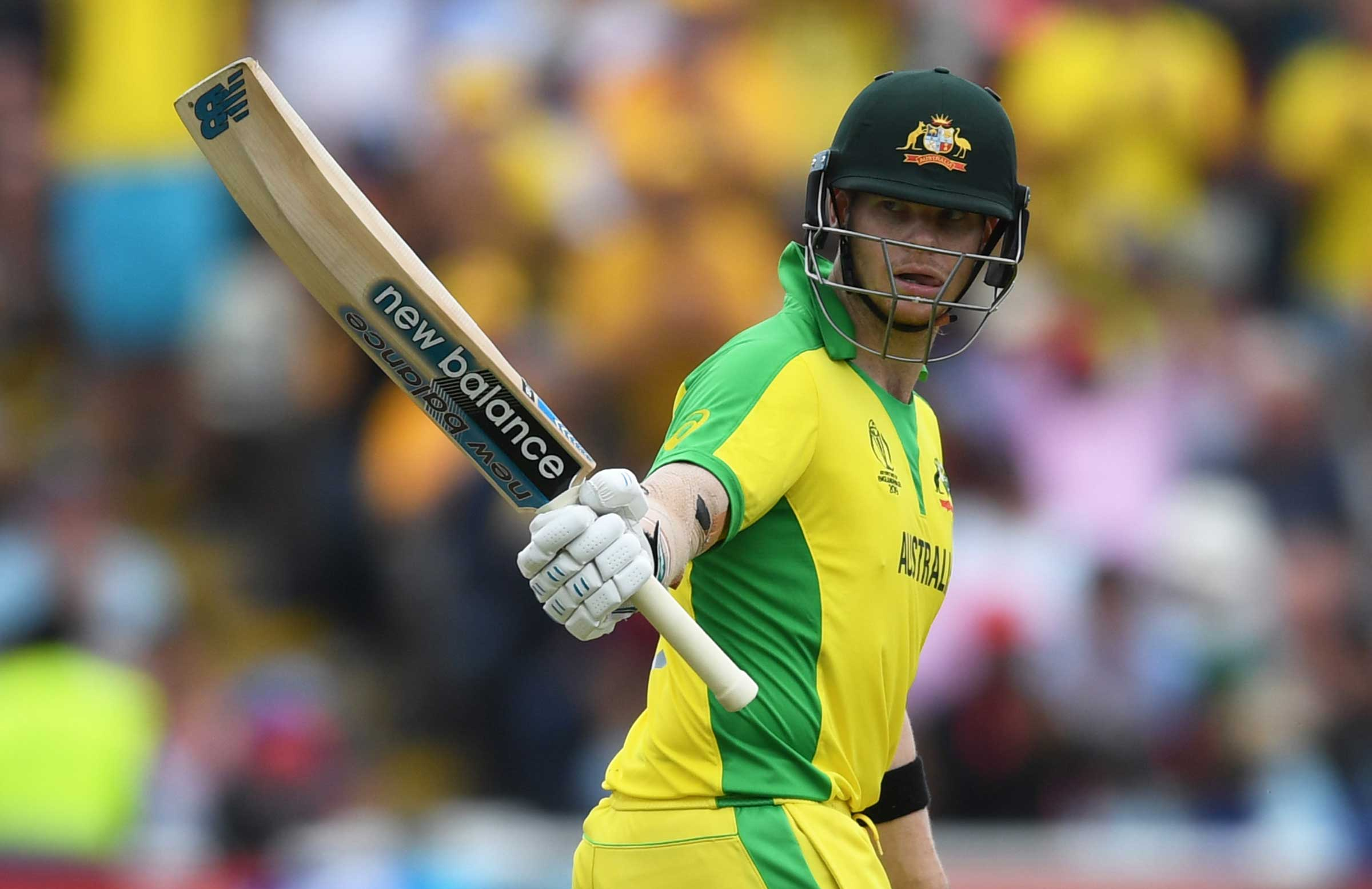 Smith has four successive 50+ scores in ICC knockout games // Getty